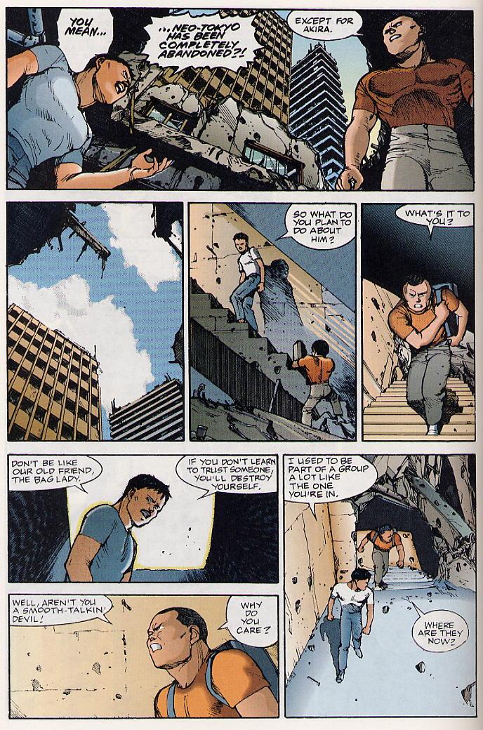 Read online Akira comic -  Issue #19 - 17