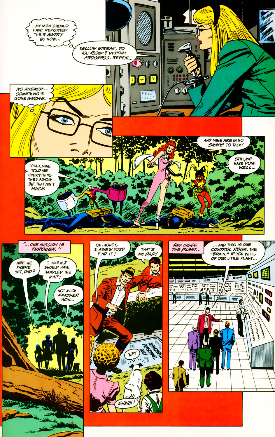 Read online Adventures of the Outsiders comic -  Issue #39 - 21