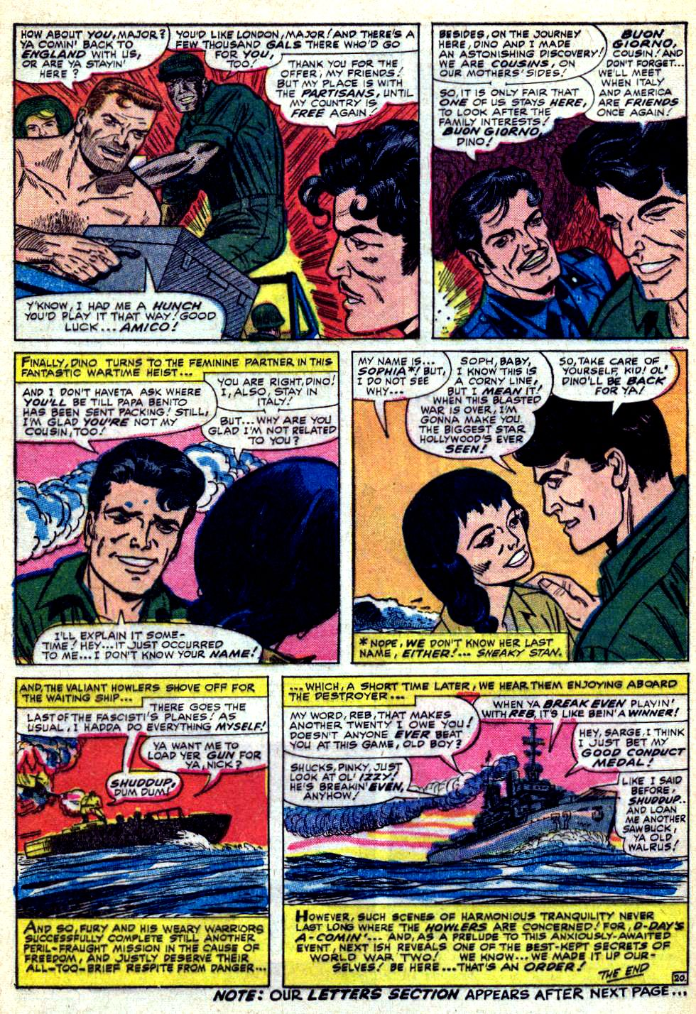 Read online Sgt. Fury comic -  Issue #30 - 28