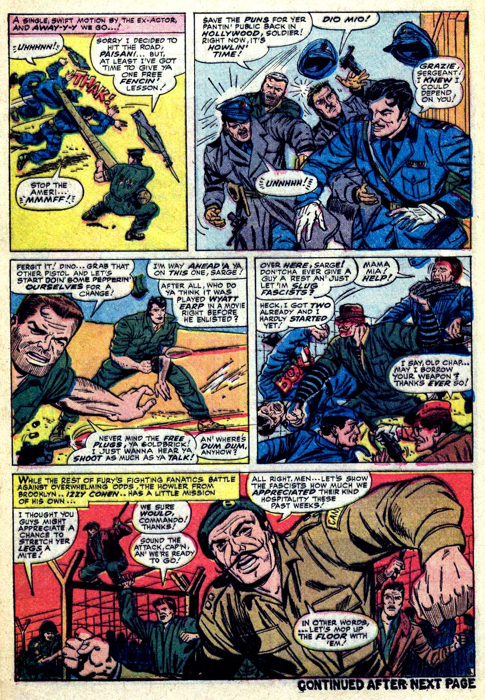 Read online Sgt. Fury comic -  Issue #30 - 12