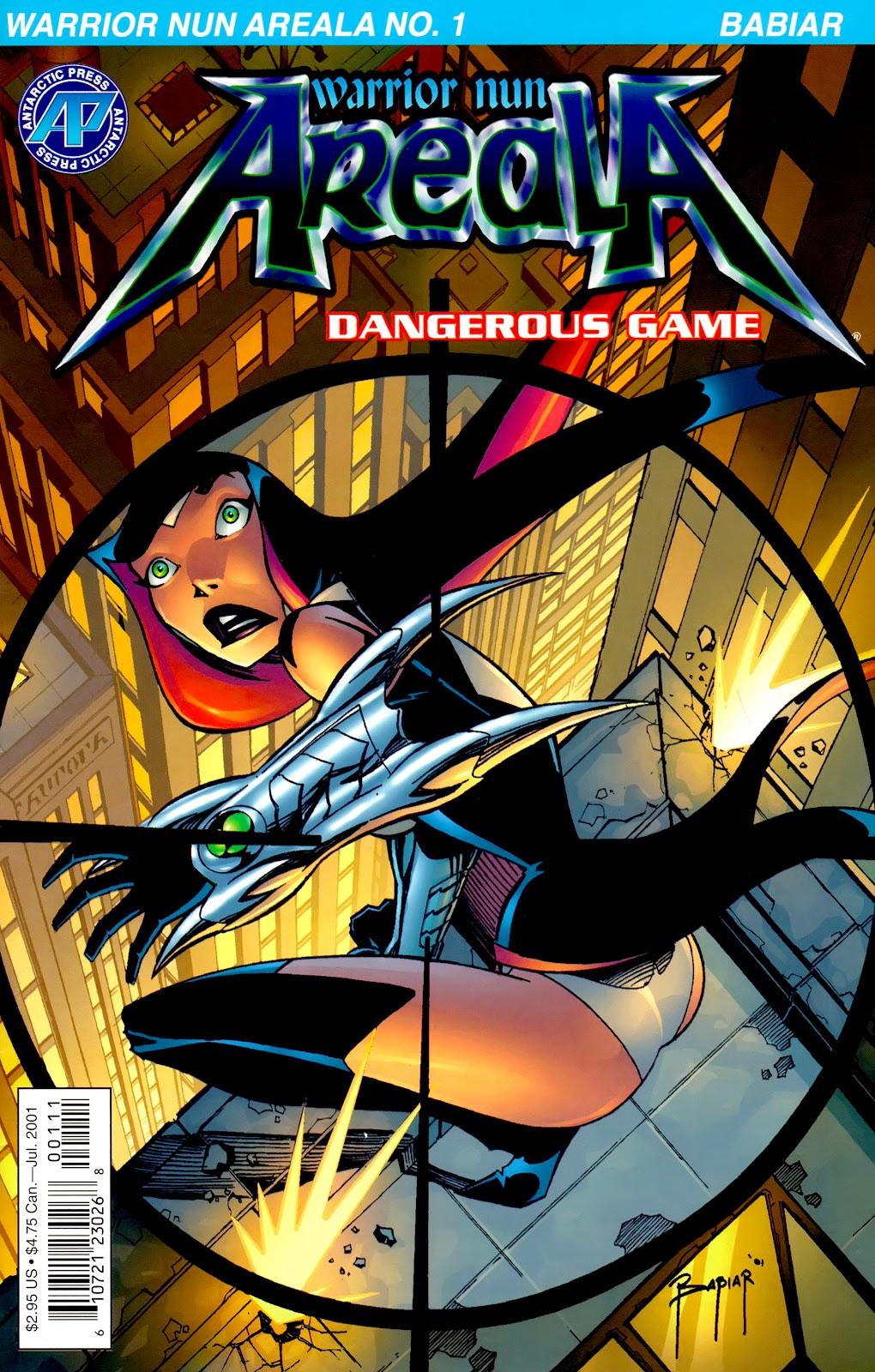 Warrior Nun Areala:  Dangerous Game Issue #1 #1 - English 1