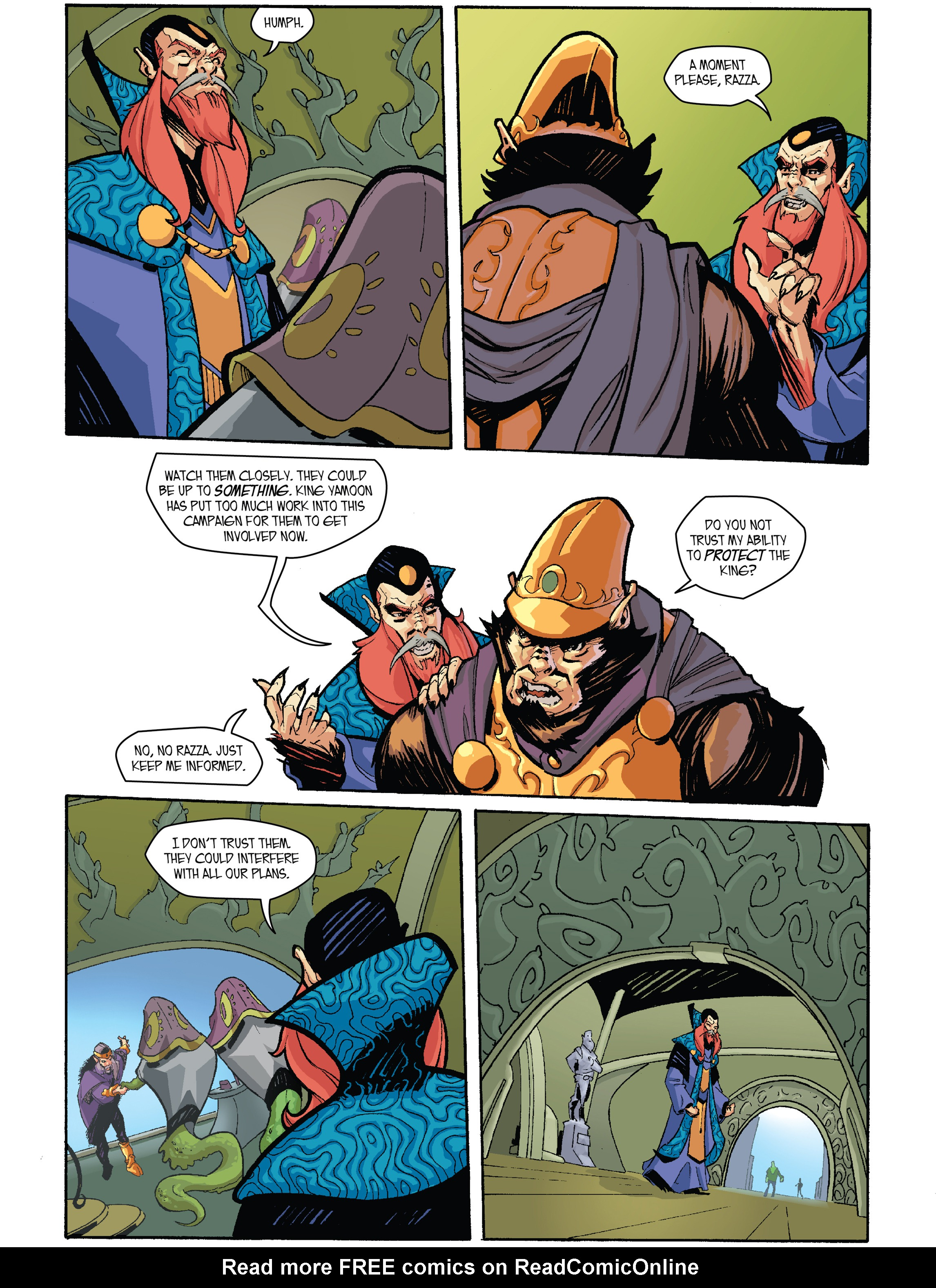 Read online Amber Atoms comic -  Issue #2 - 8