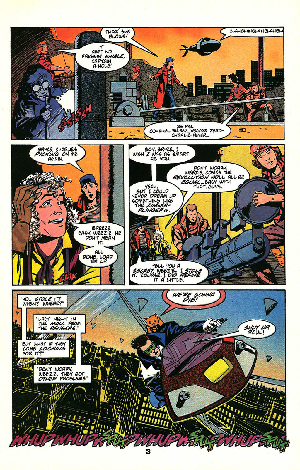 Read online American Flagg! comic -  Issue #47 - 5
