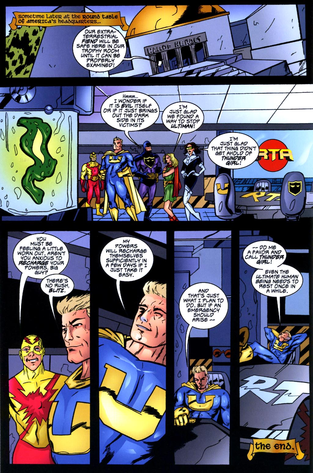Read online Big Bang: Round Table of America comic -  Issue # Full - 26
