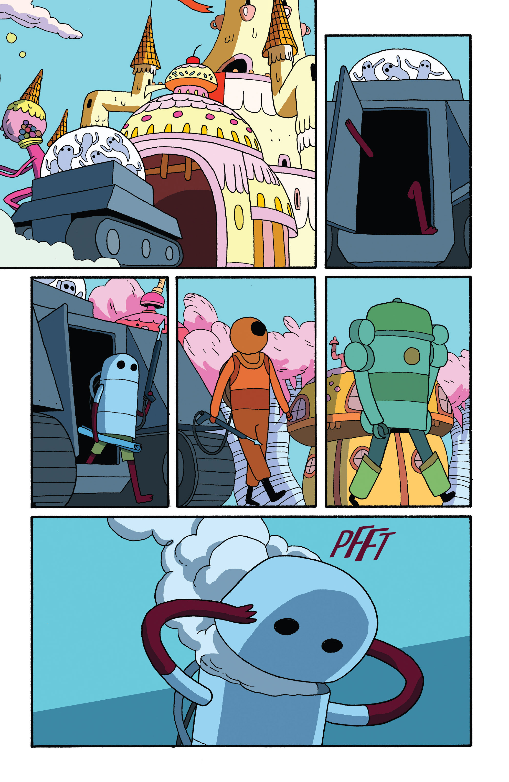 Read online Adventure Time comic -  Issue #27 - 21