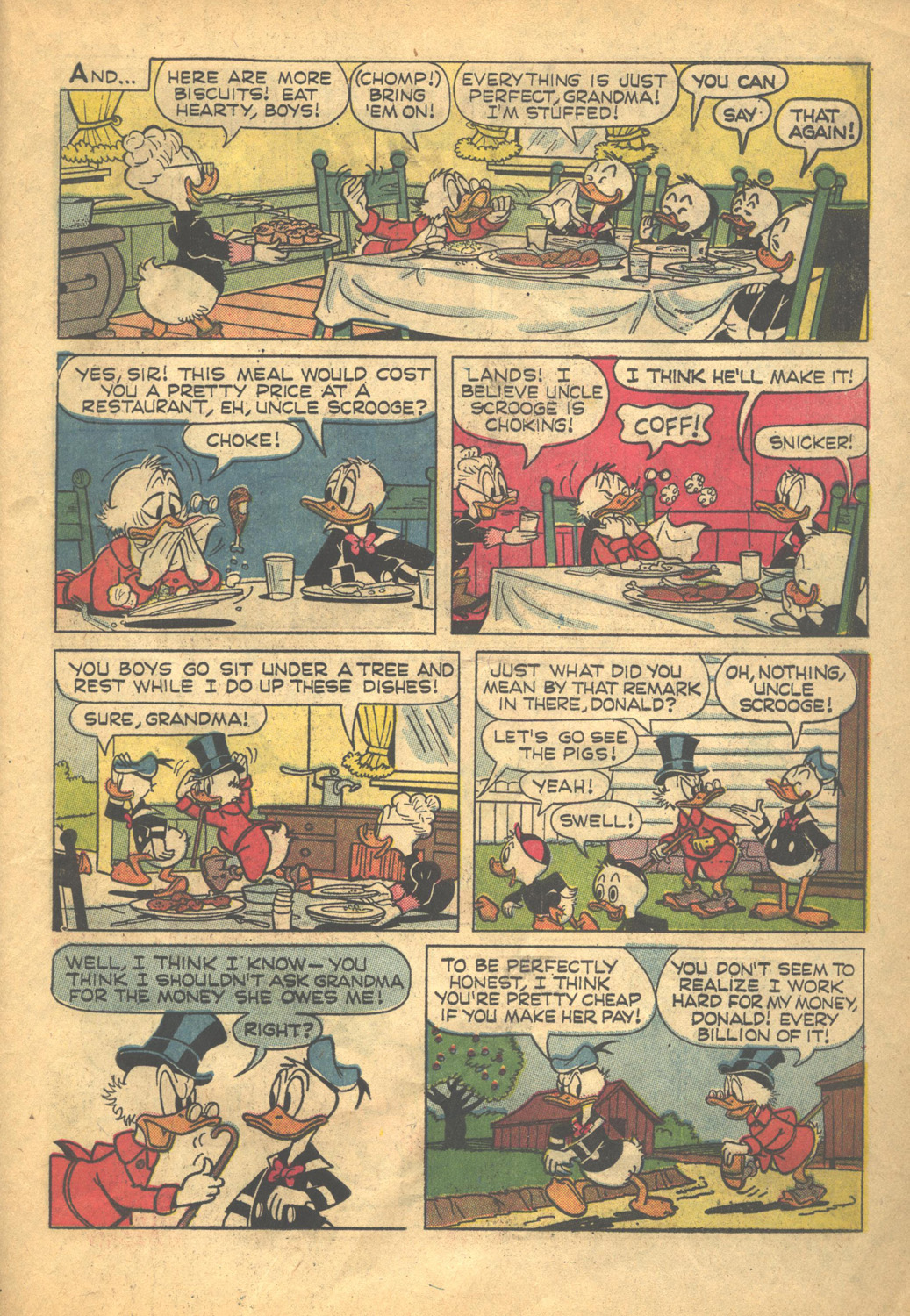 Read online Uncle Scrooge (1953) comic -  Issue #58 - 31