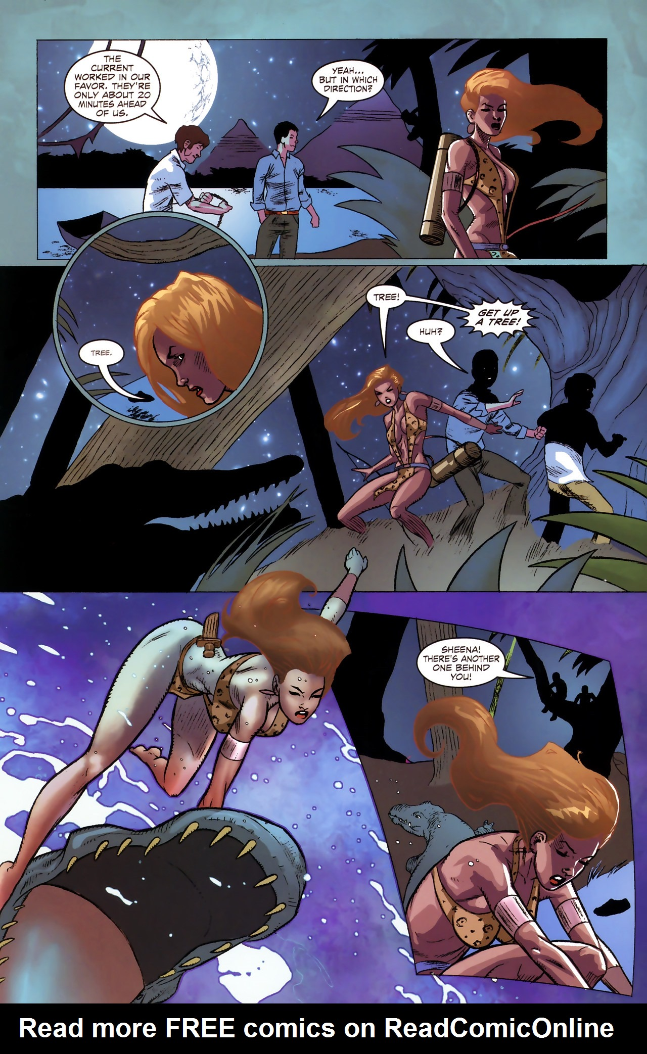 Read online Sheena Queen of the Jungle: Dark Rising comic -  Issue #1 - 17
