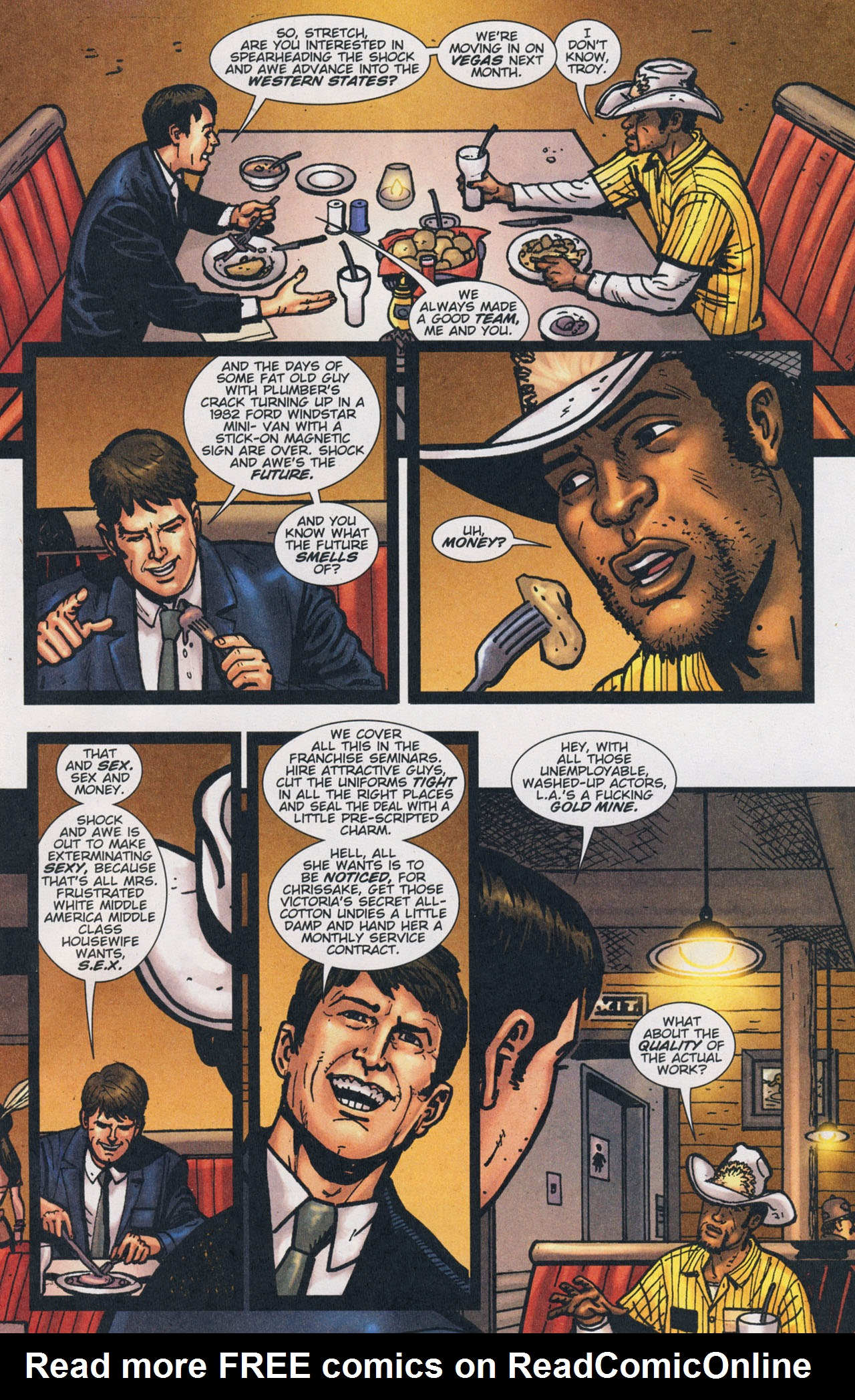 Read online The Exterminators comic -  Issue #17 - 11
