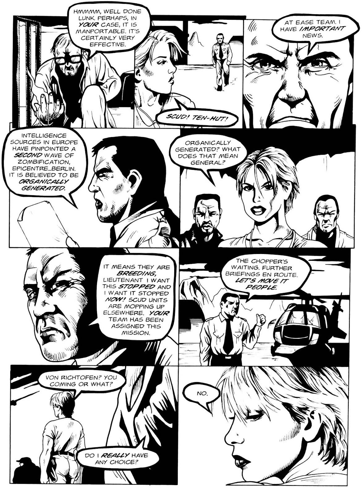 Read online Night of the Living Dead (1994) comic -  Issue #3 - 14