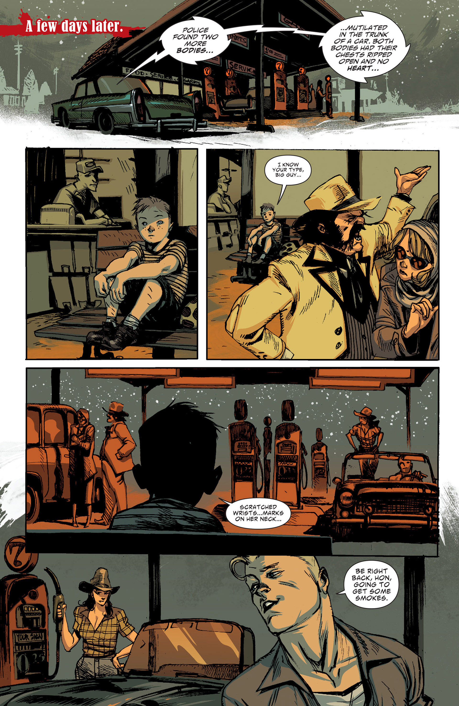 Read online American Vampire: The Long Road To Hell comic -  Issue # Full - 22