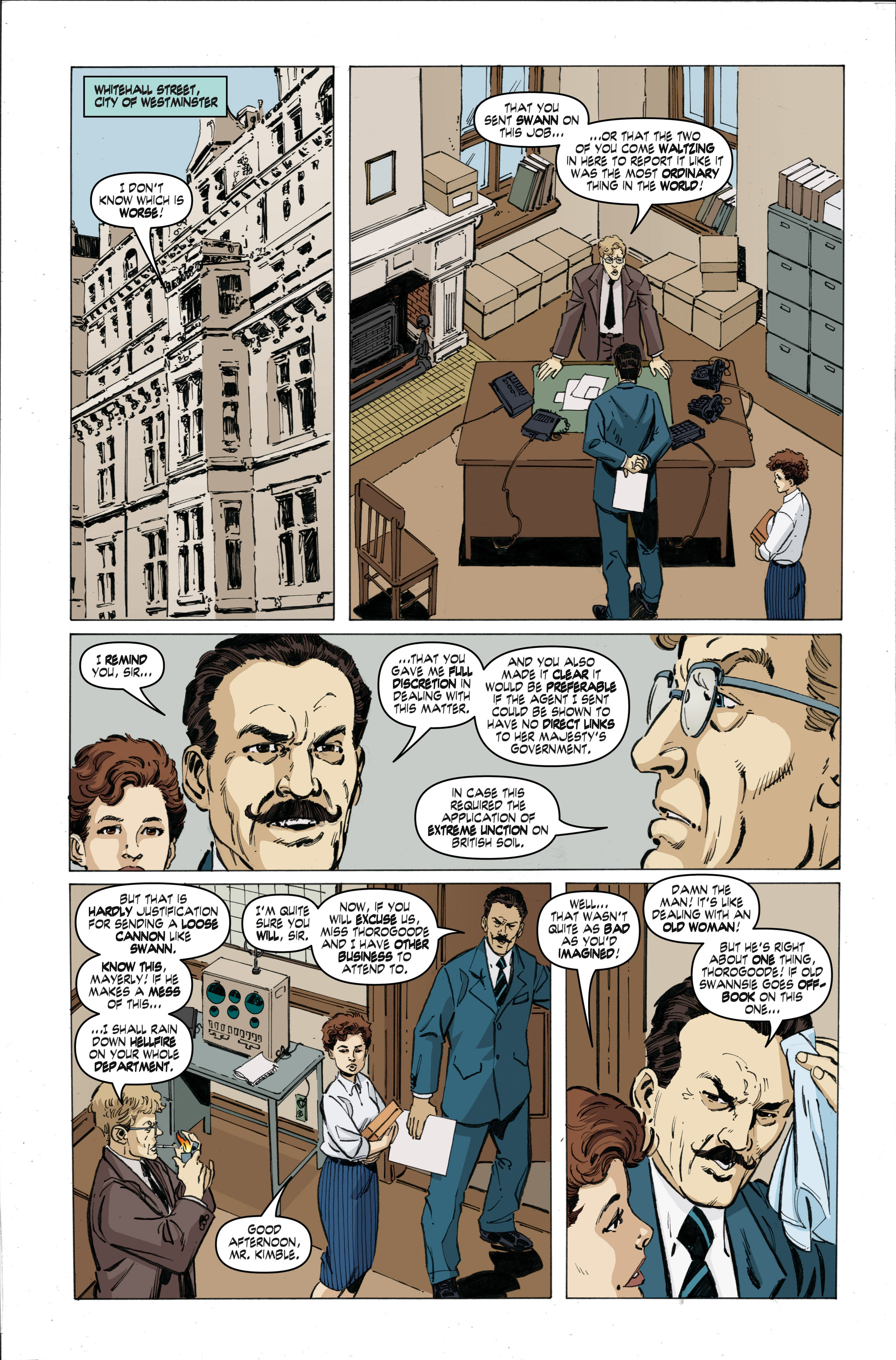 Read online Cold War comic -  Issue # TPB - 35