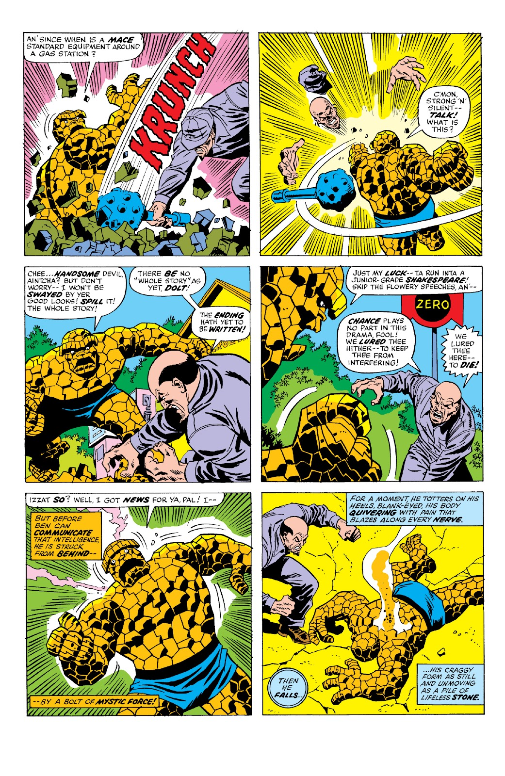 Read online Marvel Two-In-One Epic Collection: Cry Monster comic -  Issue # TPB (Part 2) - 67