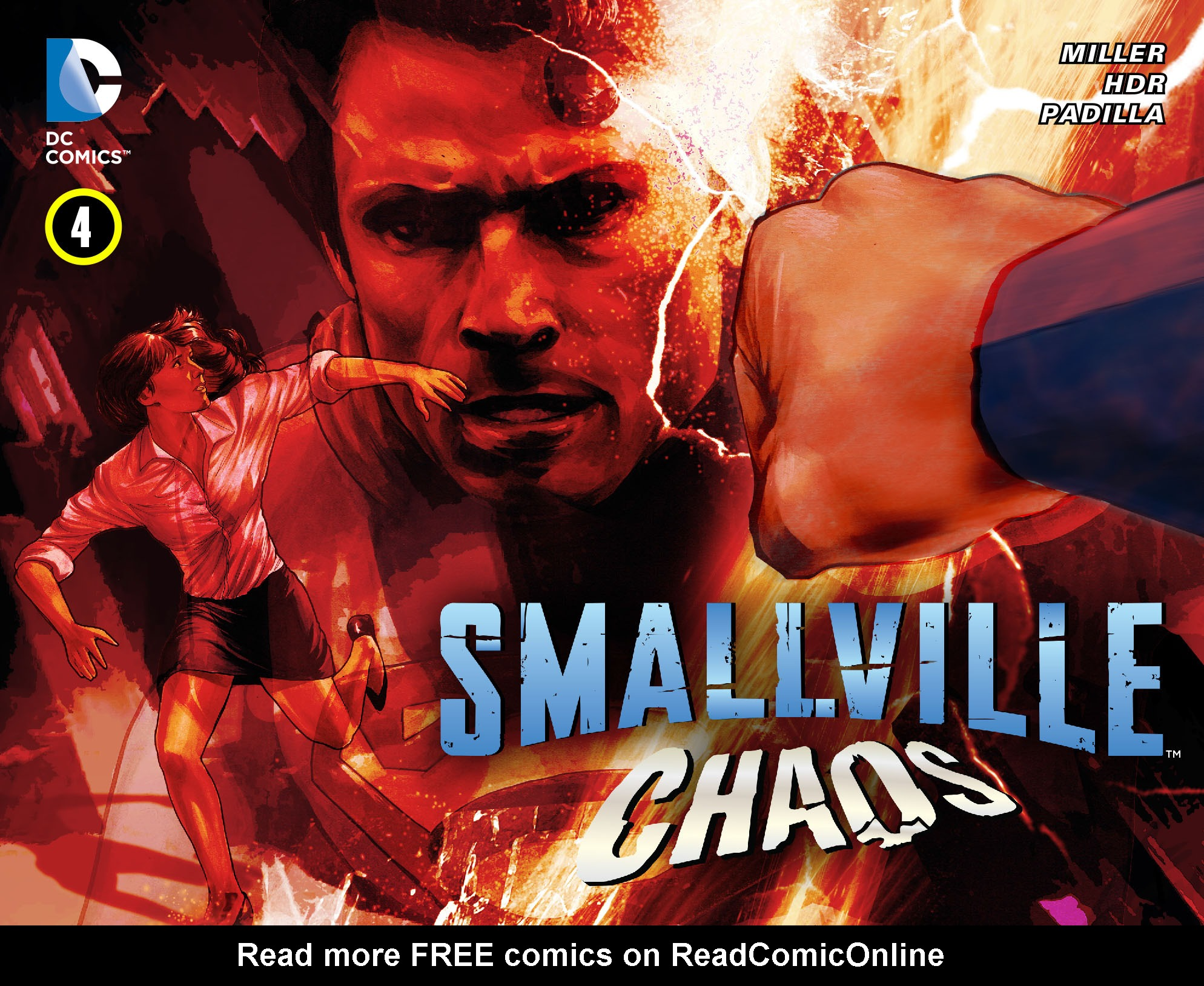 Read online Smallville: Chaos [II] comic -  Issue #4 - 1