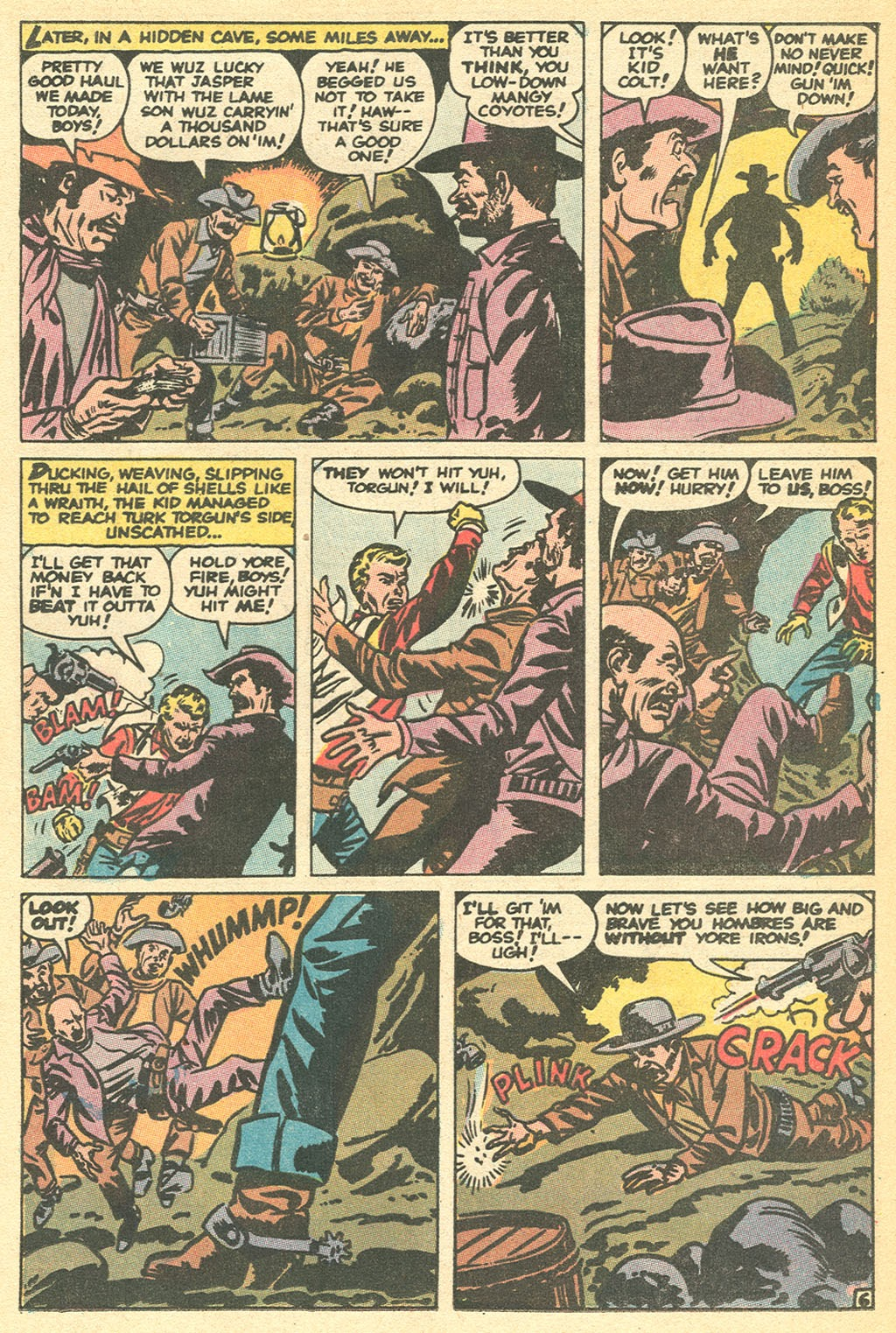 Kid Colt Outlaw issue 152 - Page 17