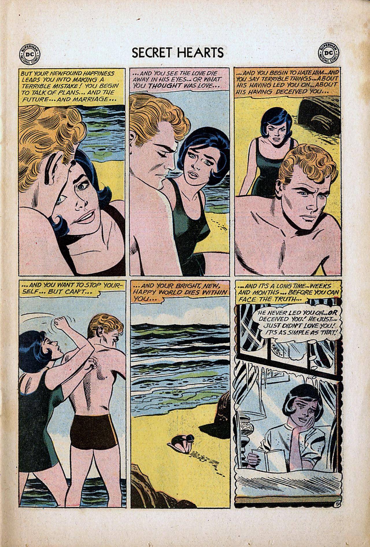 Read online Secret Hearts comic -  Issue #80 - 7