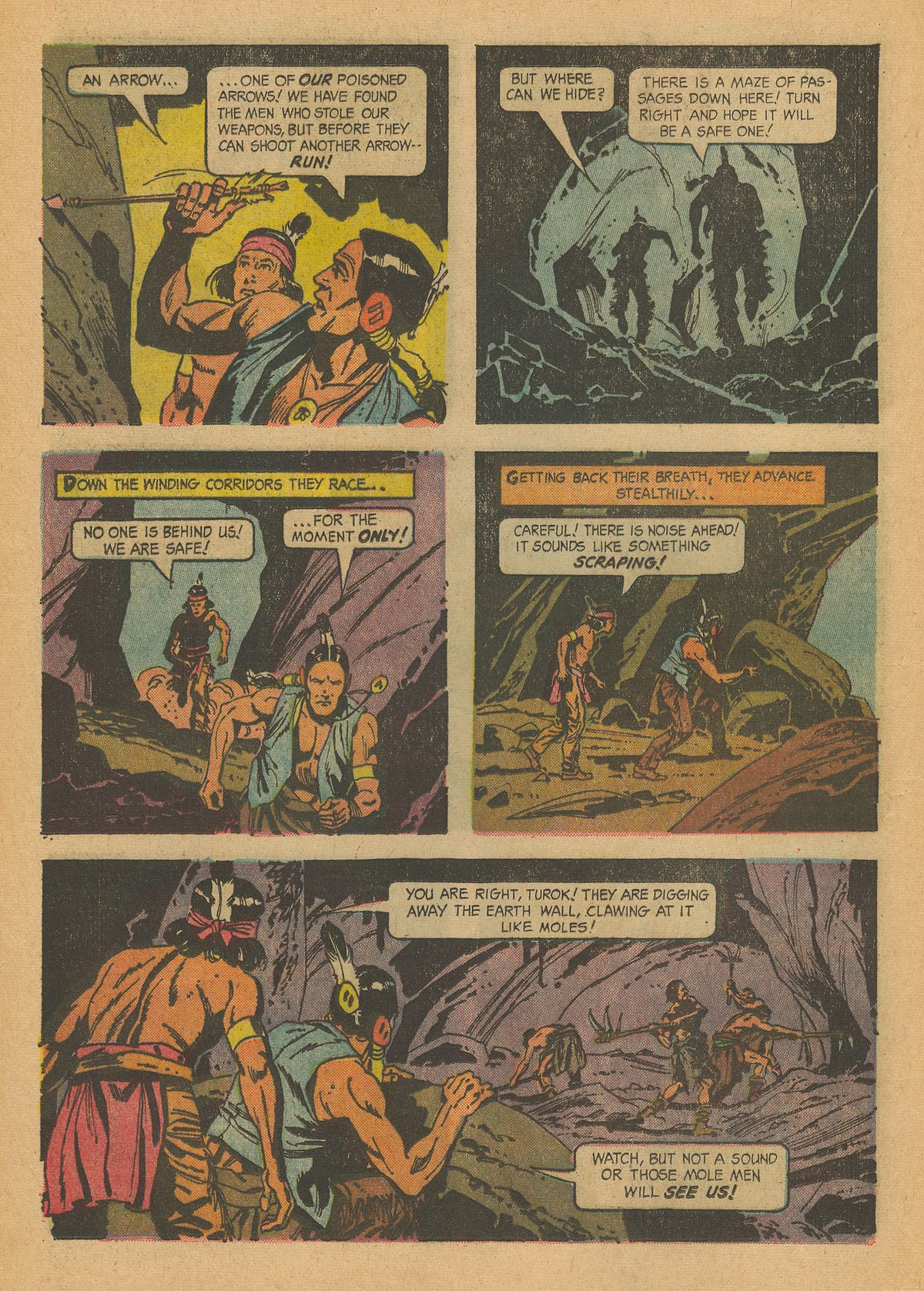 Read online Turok, Son of Stone comic -  Issue #43 - 16