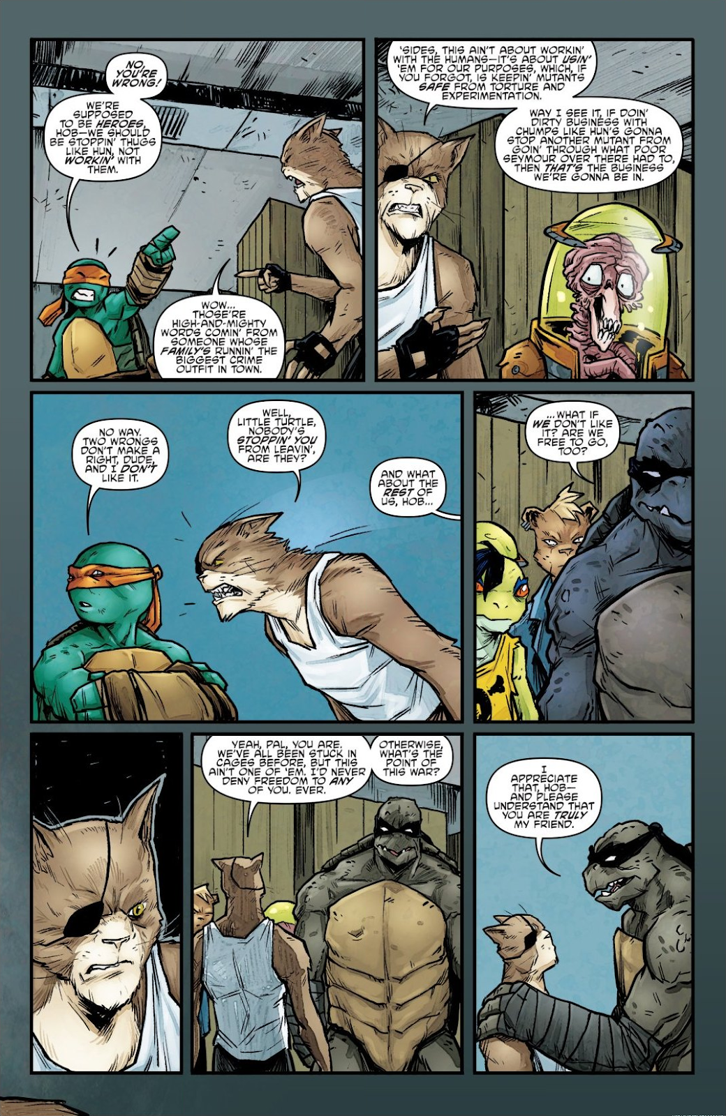 Read online Teenage Mutant Ninja Turtles: The IDW Collection comic -  Issue # TPB 7 (Part 1) - 93