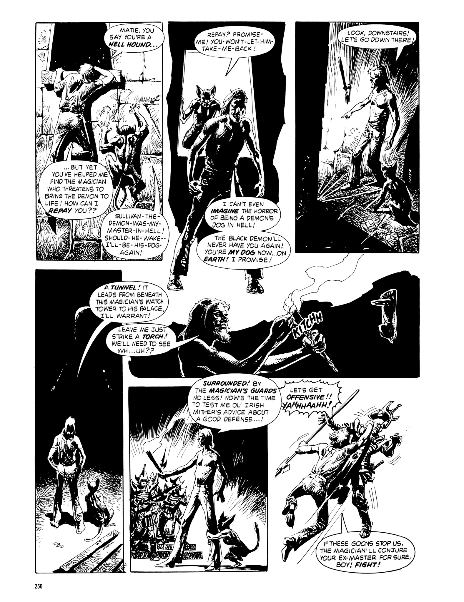 Read online Eerie Archives comic -  Issue # TPB 18 - 247