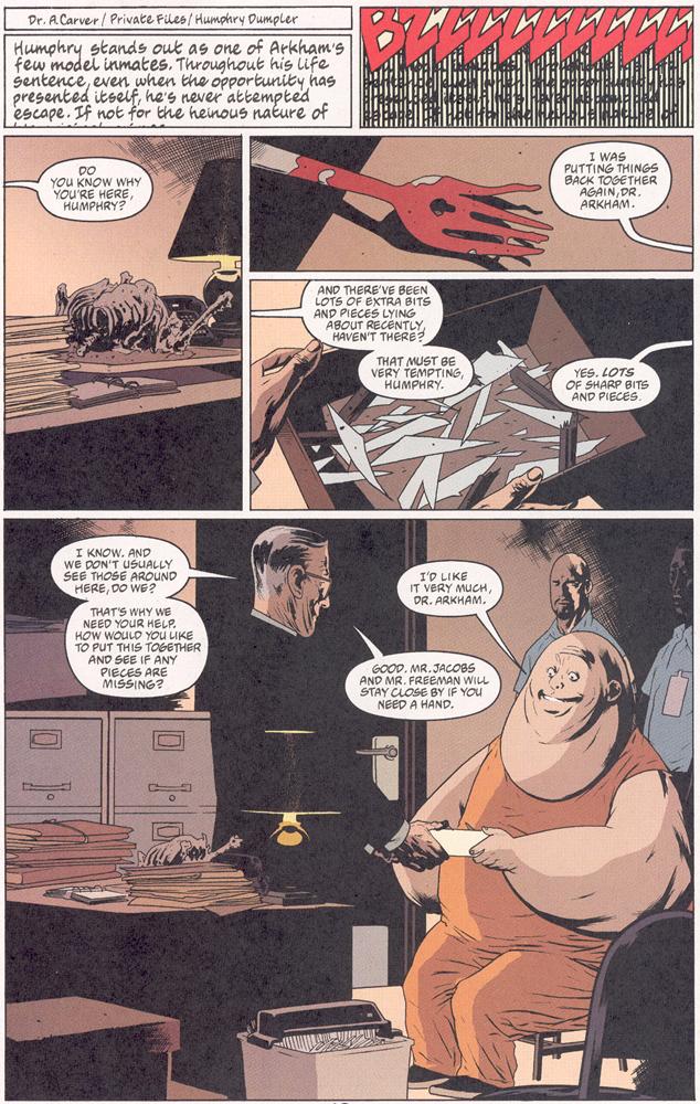 Read online Arkham Asylum: Living Hell comic -  Issue #2 - 14