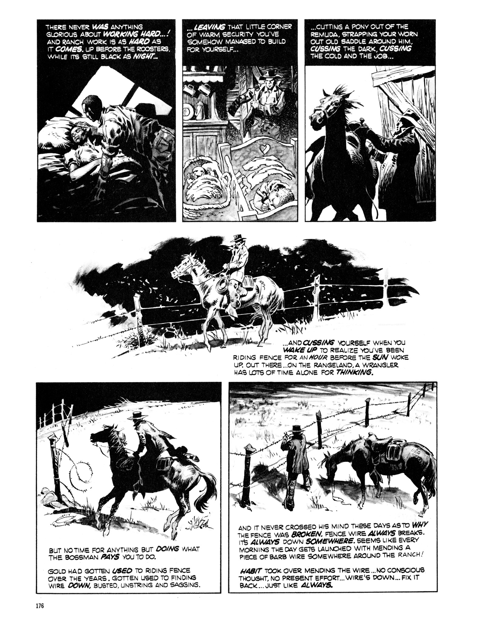 Read online Eerie Archives comic -  Issue # TPB 14 - 177