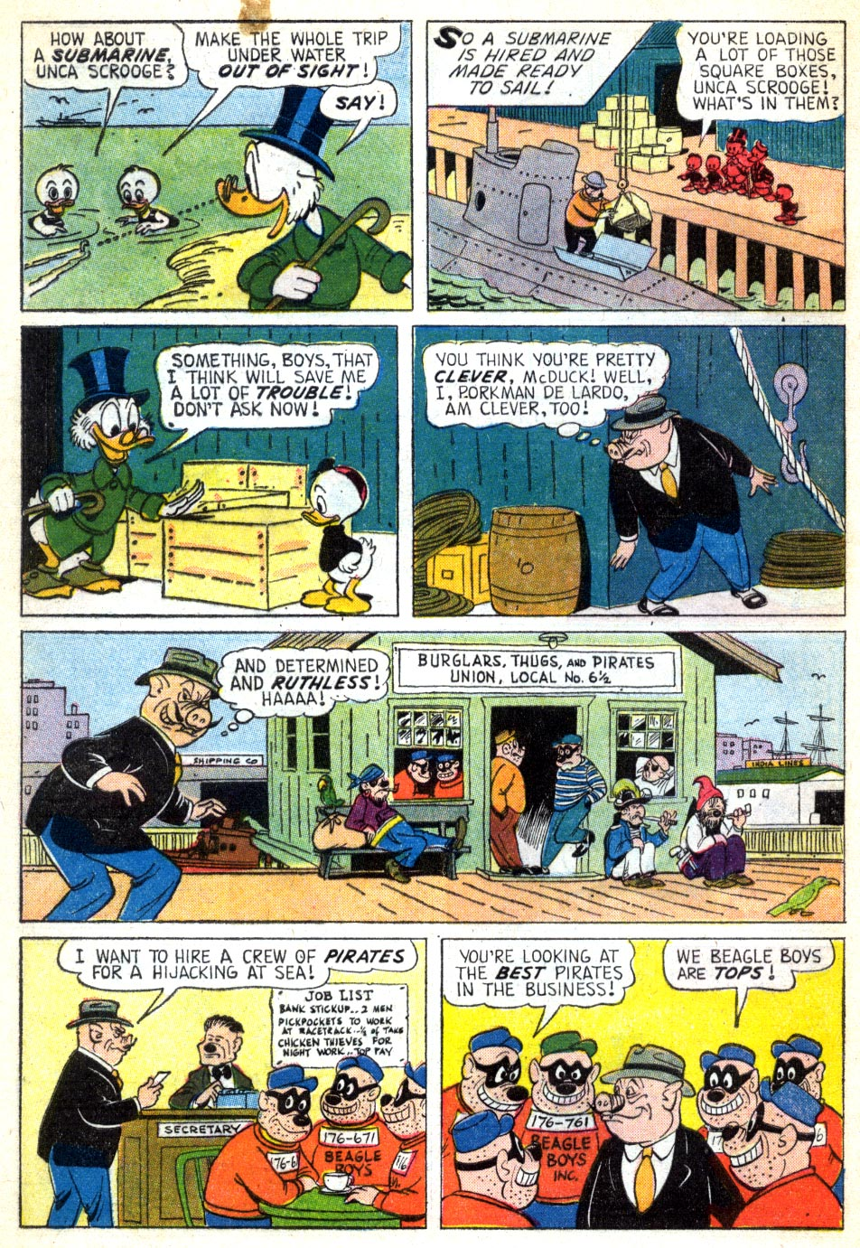Read online Uncle Scrooge (1953) comic -  Issue #41 - 8