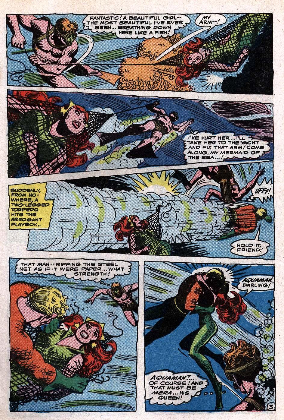 Read online Aquaman (1962) comic -  Issue #34 - 5