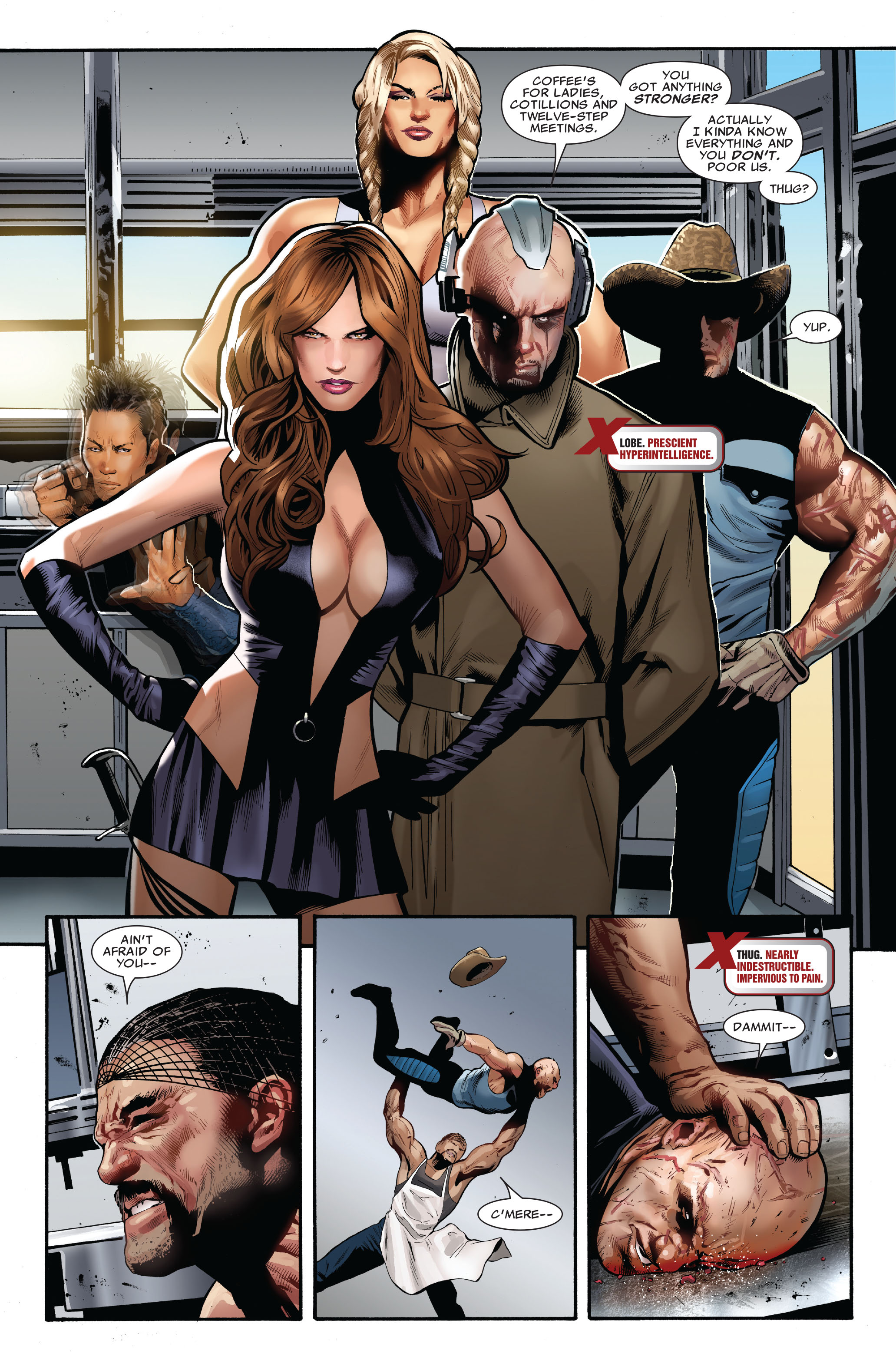 Read online Uncanny X-Men (1963) comic -  Issue #515 - 4
