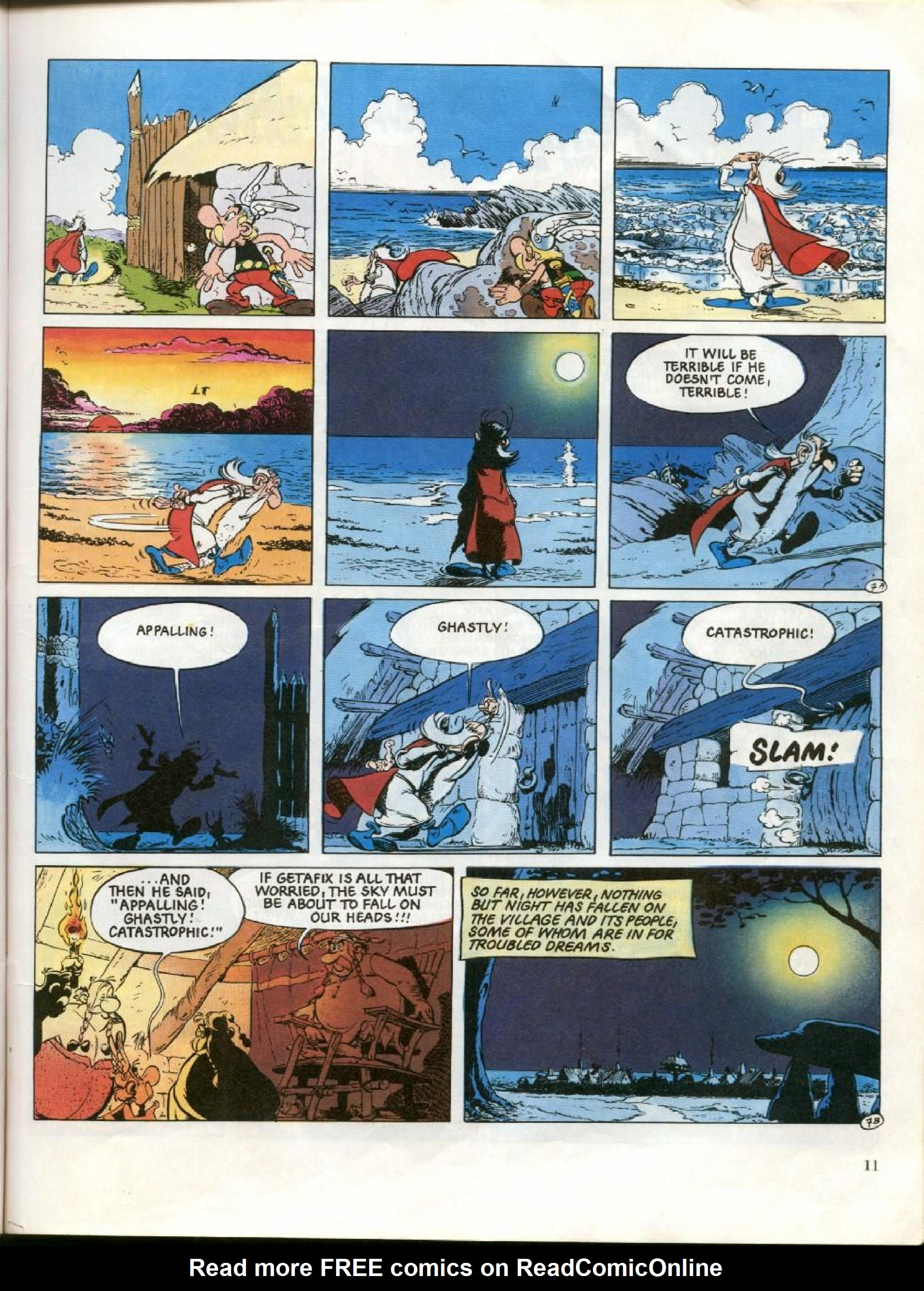 Read online Asterix comic -  Issue #26 - 8