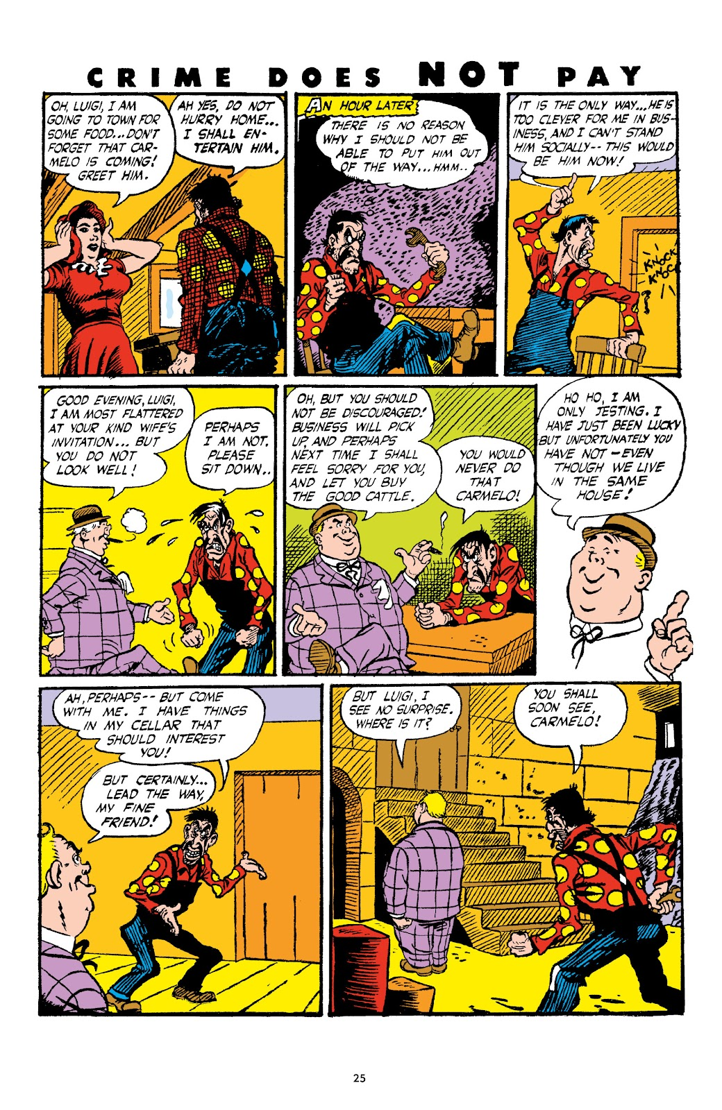 Read online Crime Does Not Pay Archives comic -  Issue # TPB 4 (Part 1) - 25