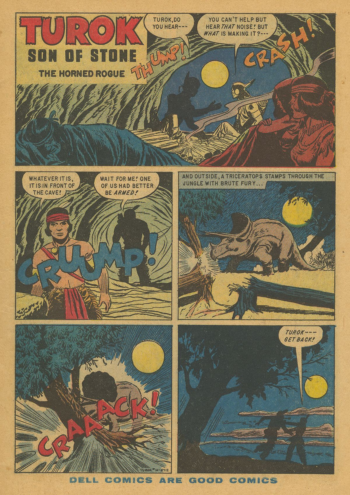 Read online Turok, Son of Stone comic -  Issue #10 - 3