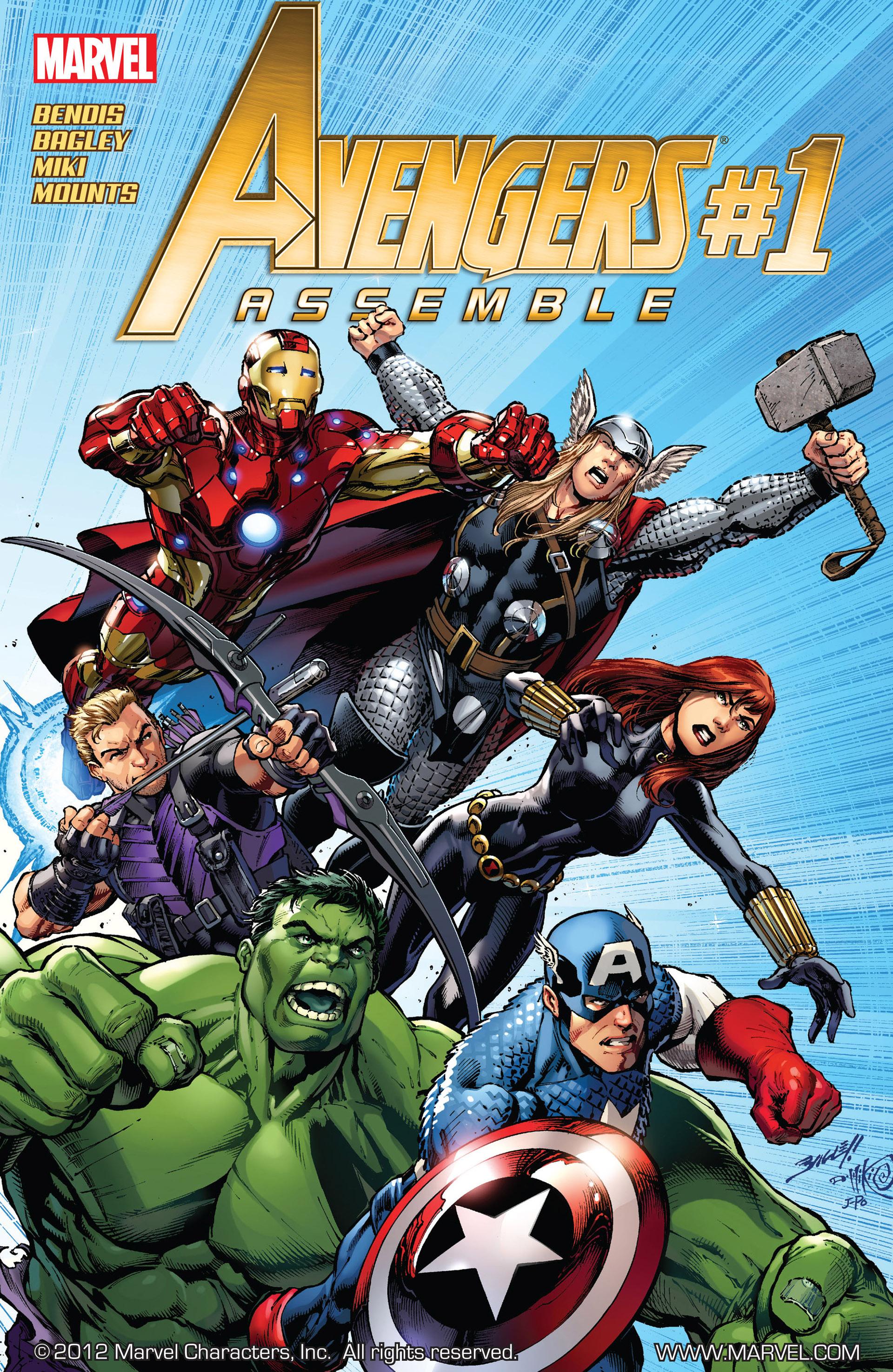 Avengers Assemble (2012) 1 Page 1