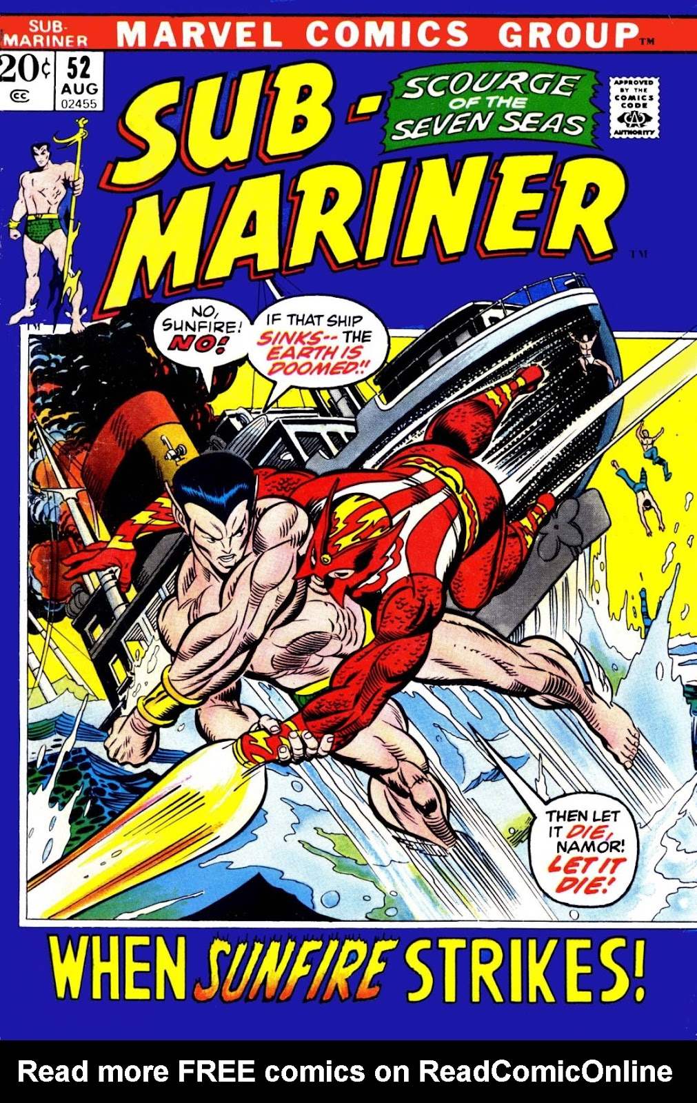 The Sub-Mariner 52 Page 1