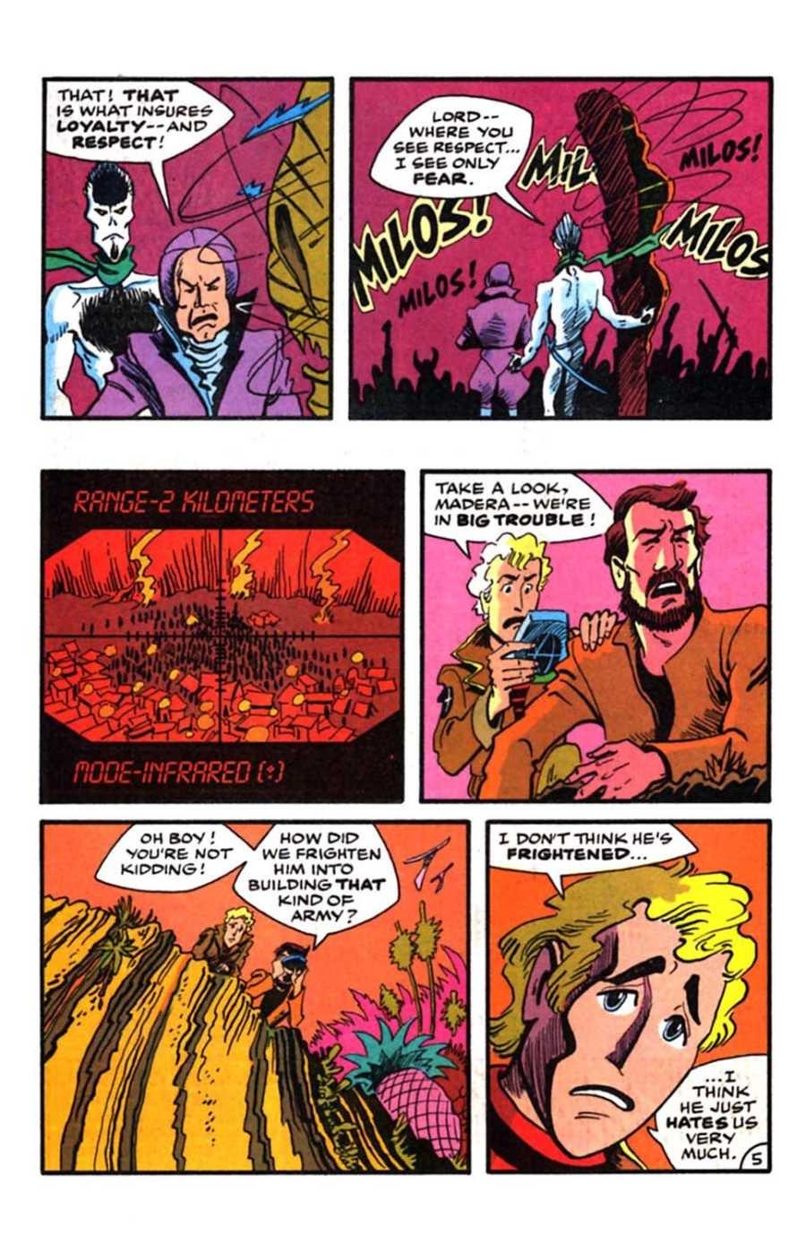 Read online Mars comic -  Issue #9 - 7