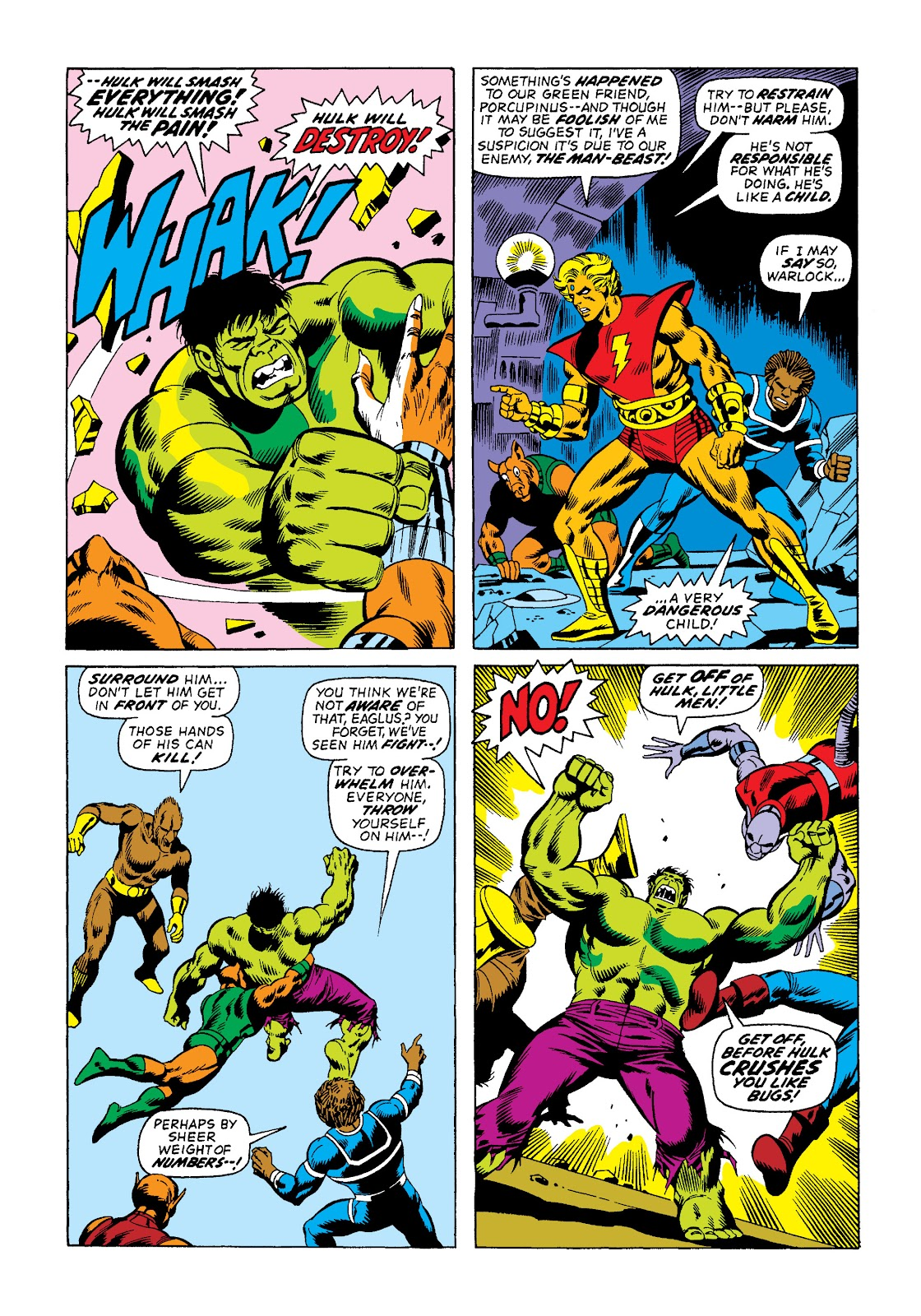 Read online Marvel Masterworks: The Incredible Hulk comic -  Issue # TPB 10 (Part 2) - 39
