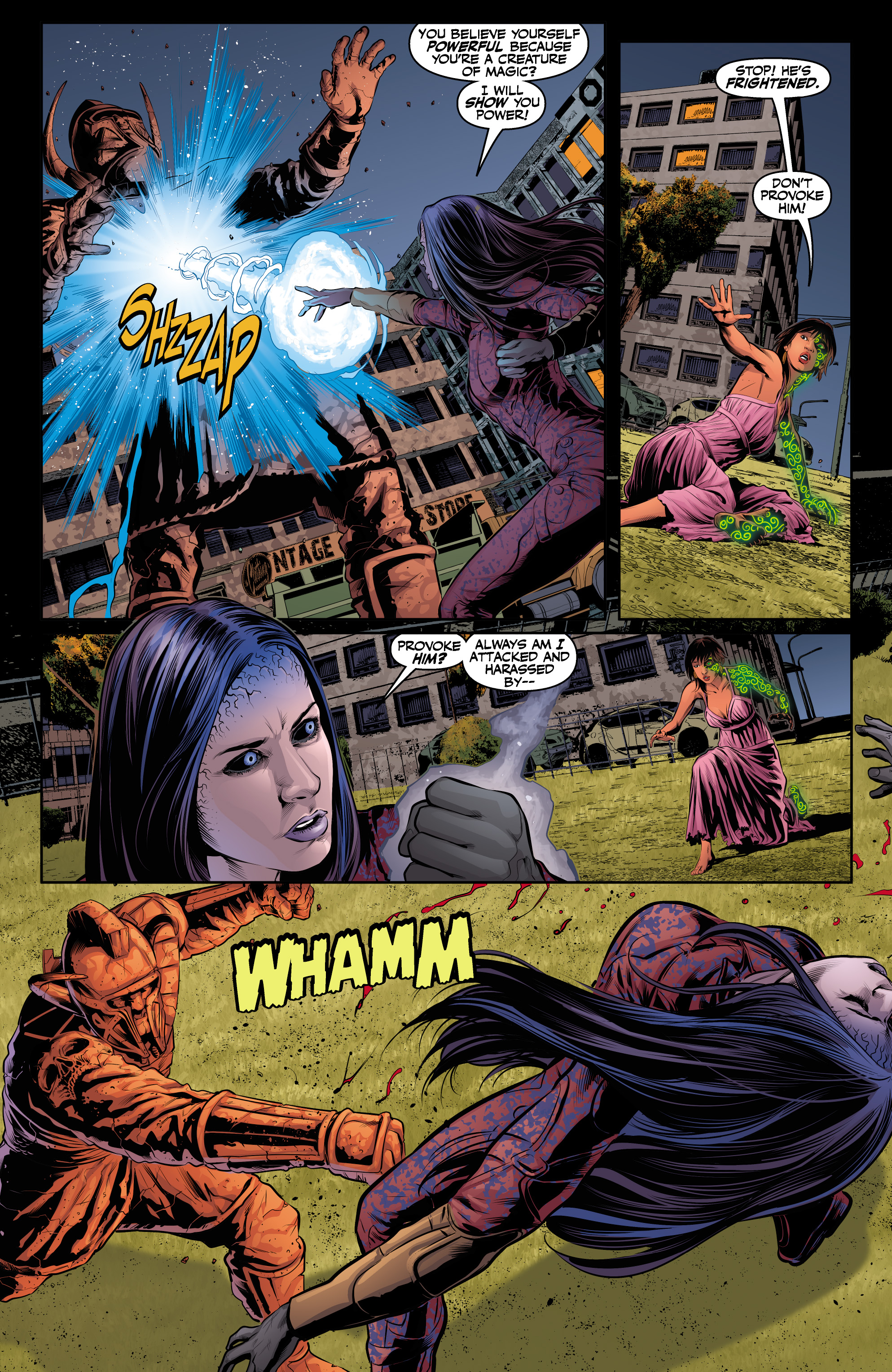 Read online Angel & Faith Season 10 comic -  Issue #24 - 5