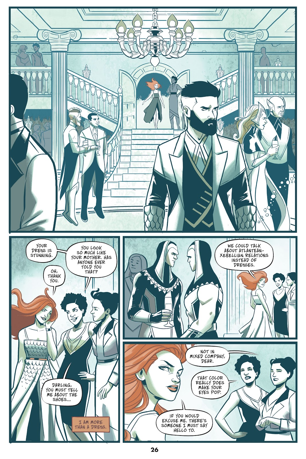 Read online Mera: Tidebreaker comic -  Issue # TPB (Part 1) - 26