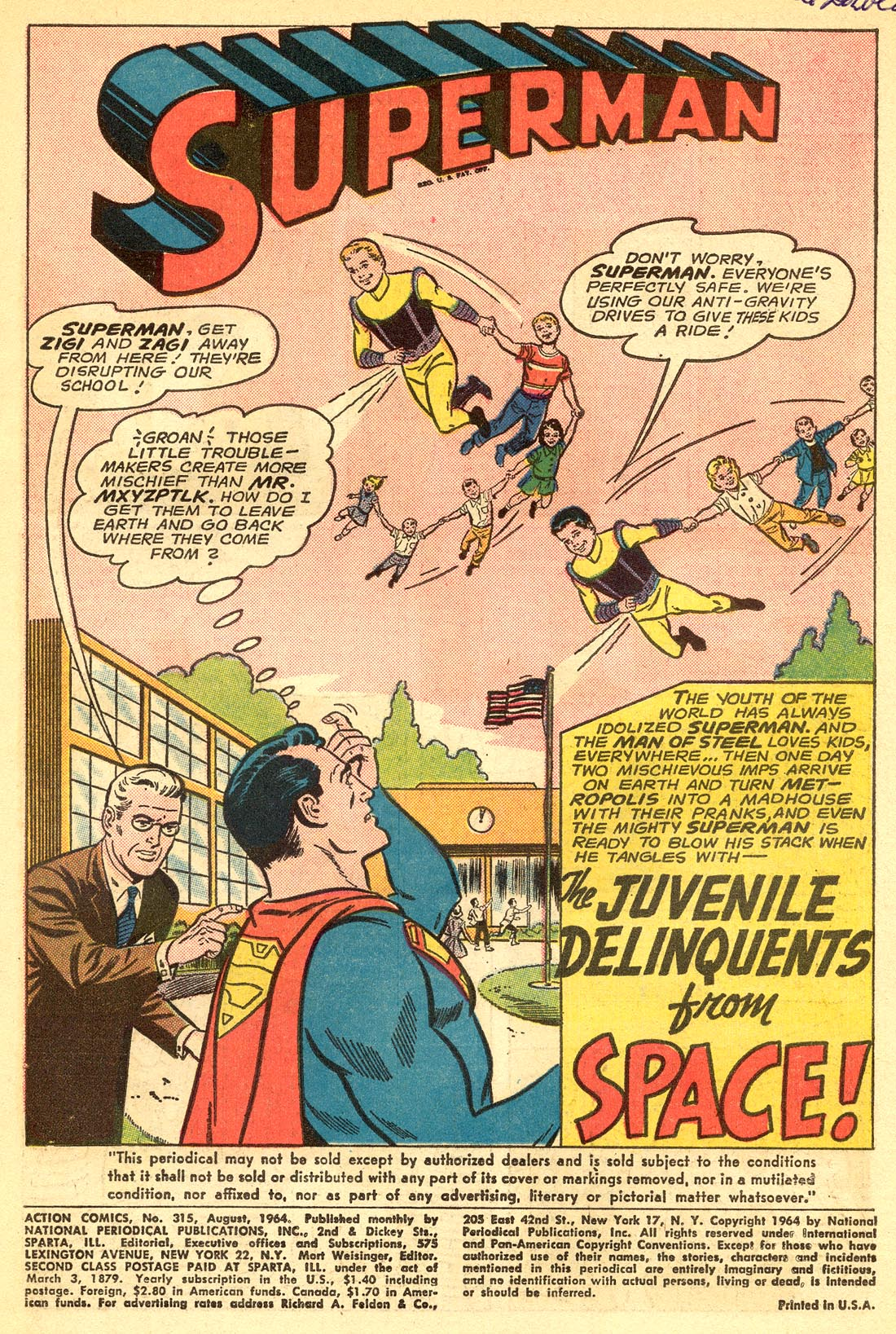Read online Action Comics (1938) comic -  Issue #315 - 3