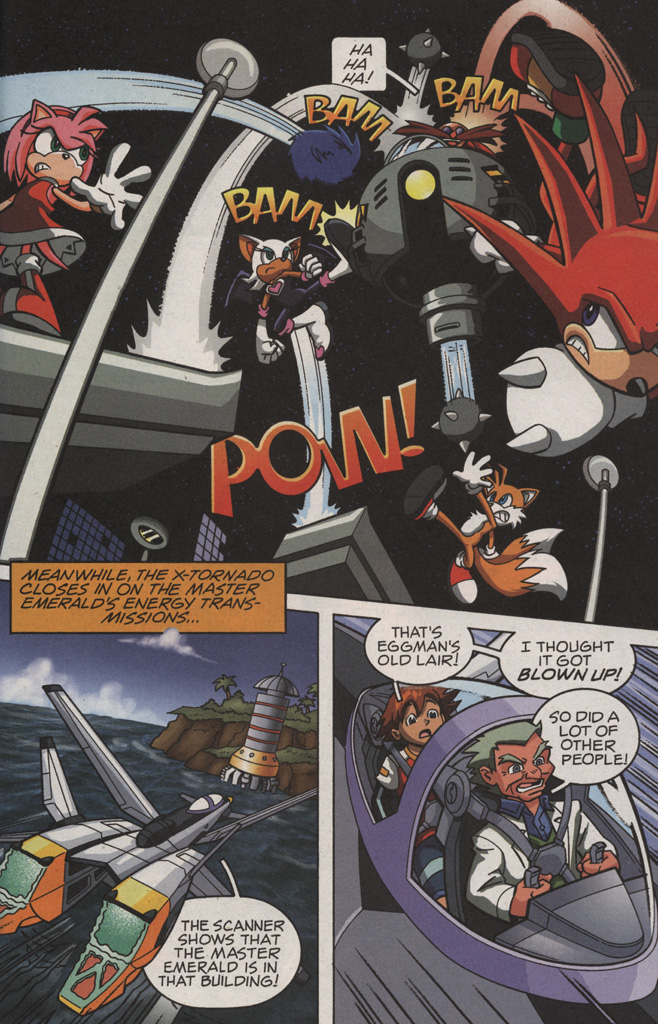 Read online Sonic X comic -  Issue #11 - 21