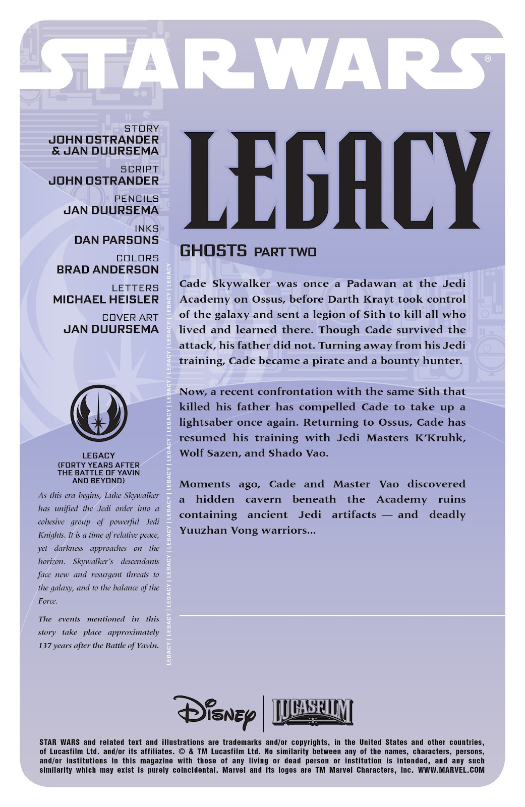 Read online Star Wars Legends: Legacy - Epic Collection comic -  Issue # TPB 1 (Part 3) - 96