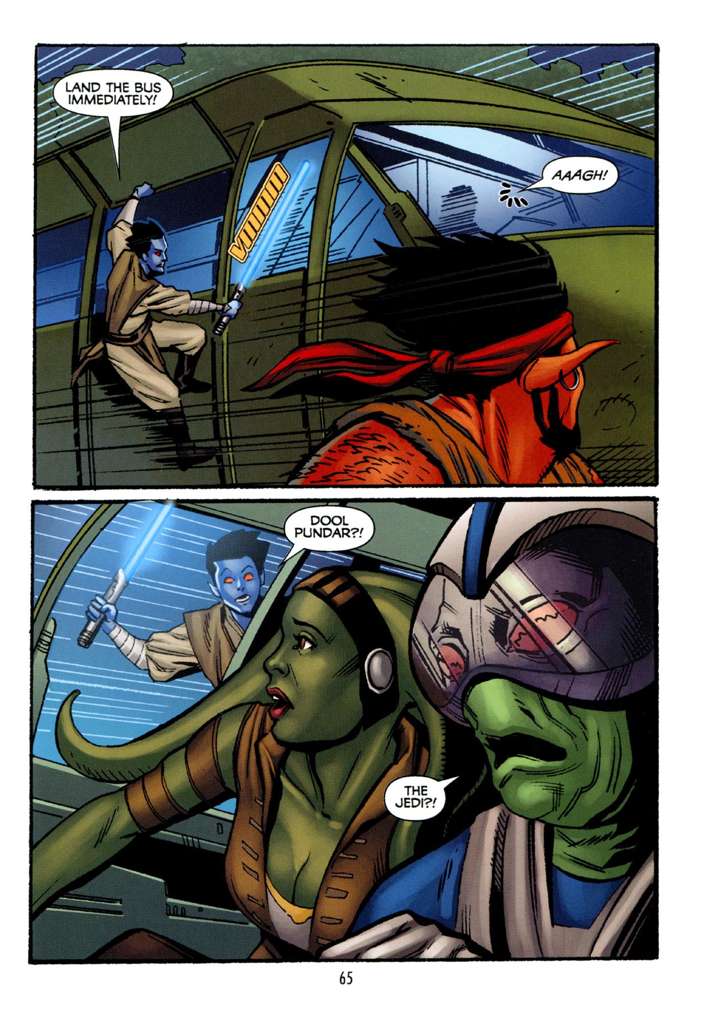 Read online Star Wars: The Clone Wars - Strange Allies comic -  Issue # Full - 66