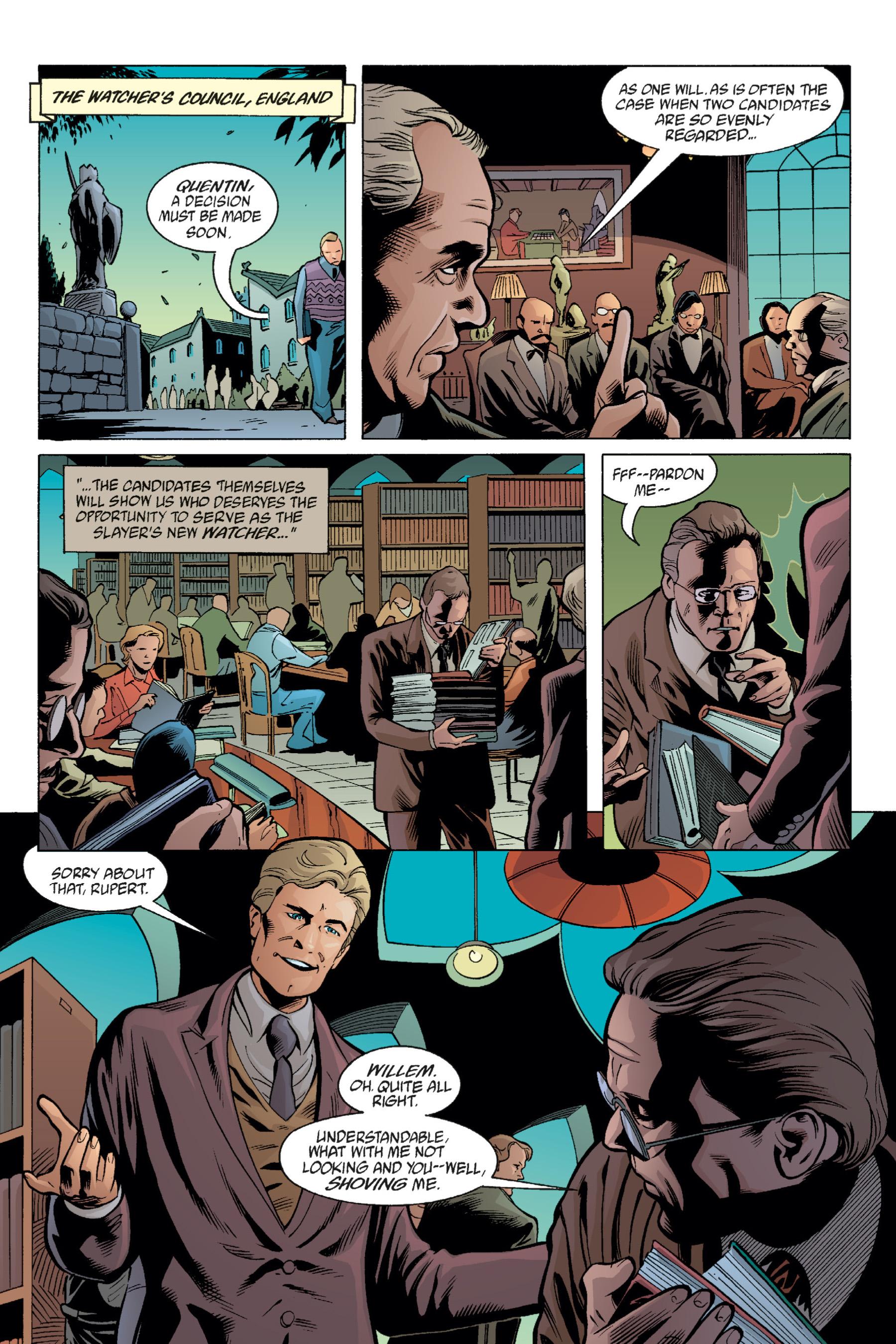 Read online Buffy the Vampire Slayer: Omnibus comic -  Issue # TPB 1 - 135