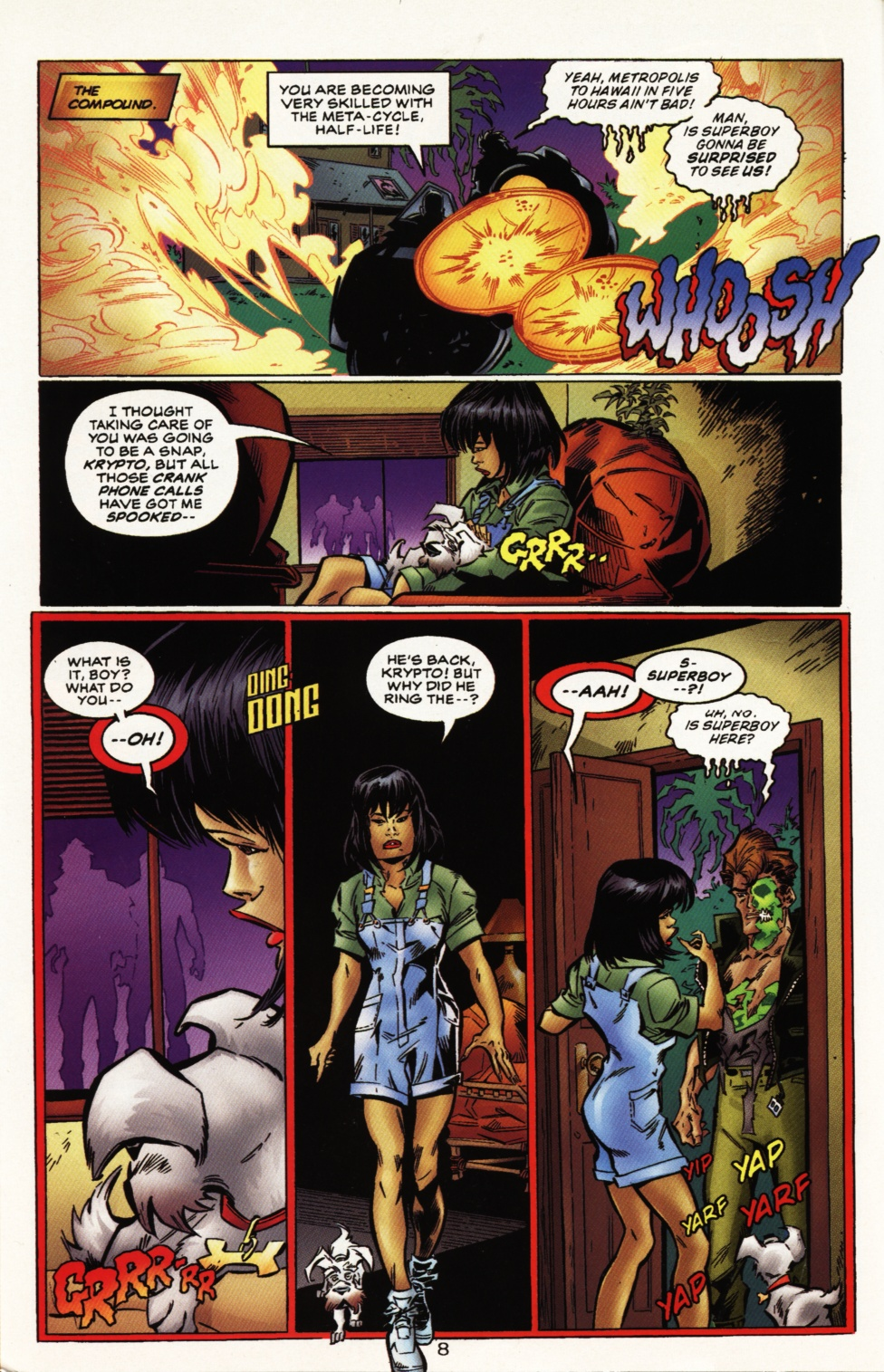 Read online Superboy & The Ravers comic -  Issue #10 - 9