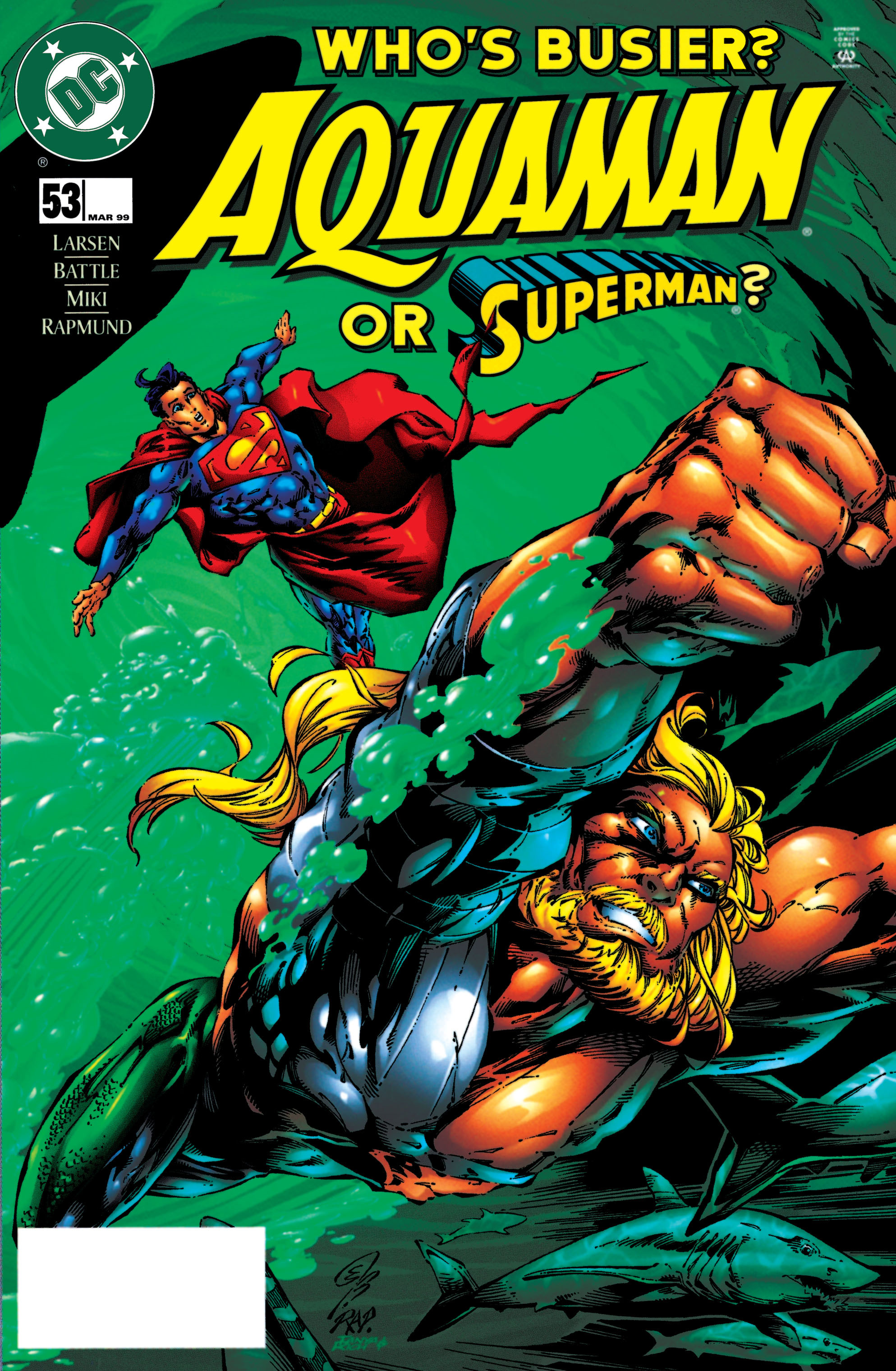 Read online Aquaman (1994) comic -  Issue #53 - 1