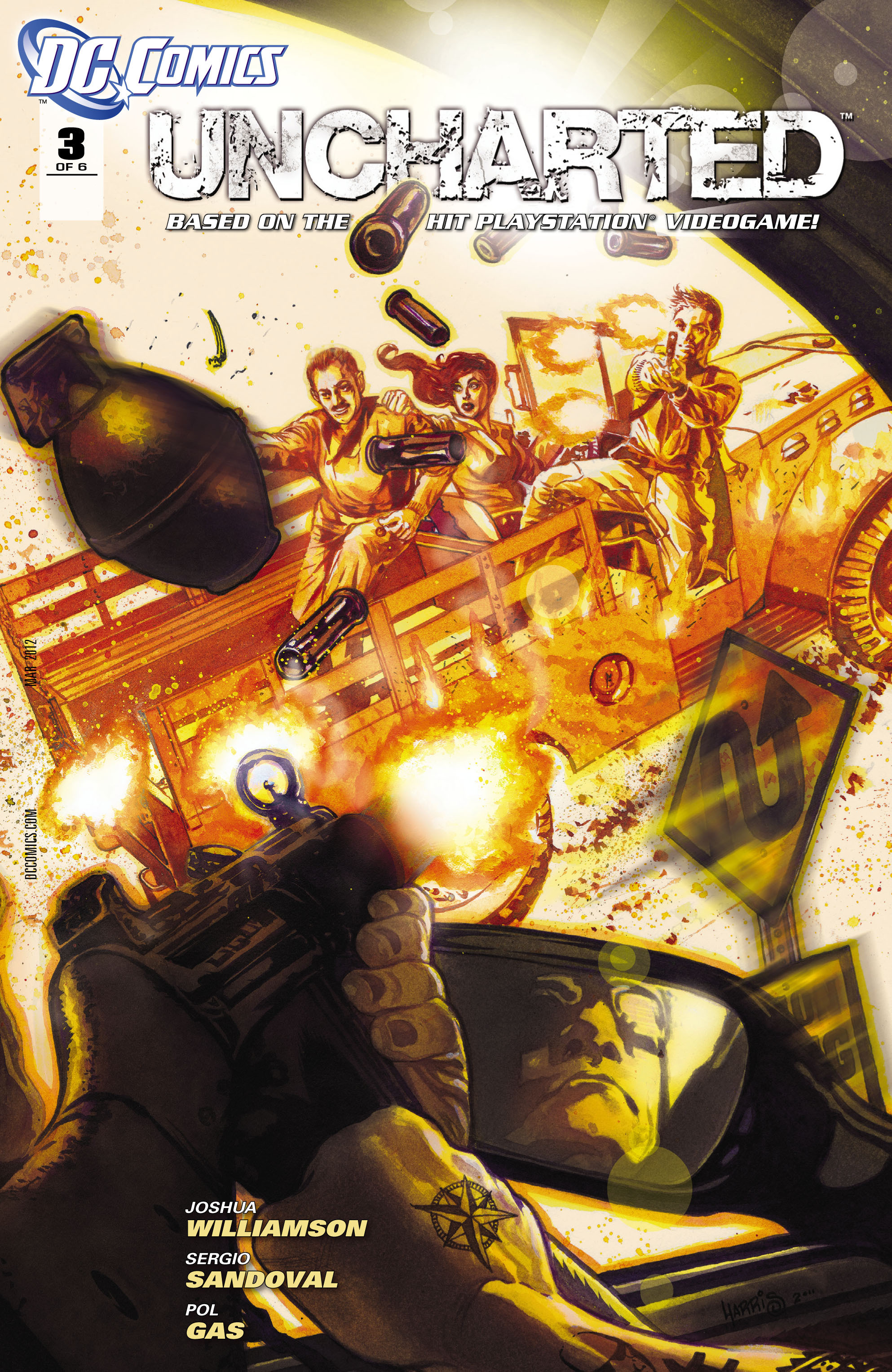 Read online Uncharted comic -  Issue #3 - 2