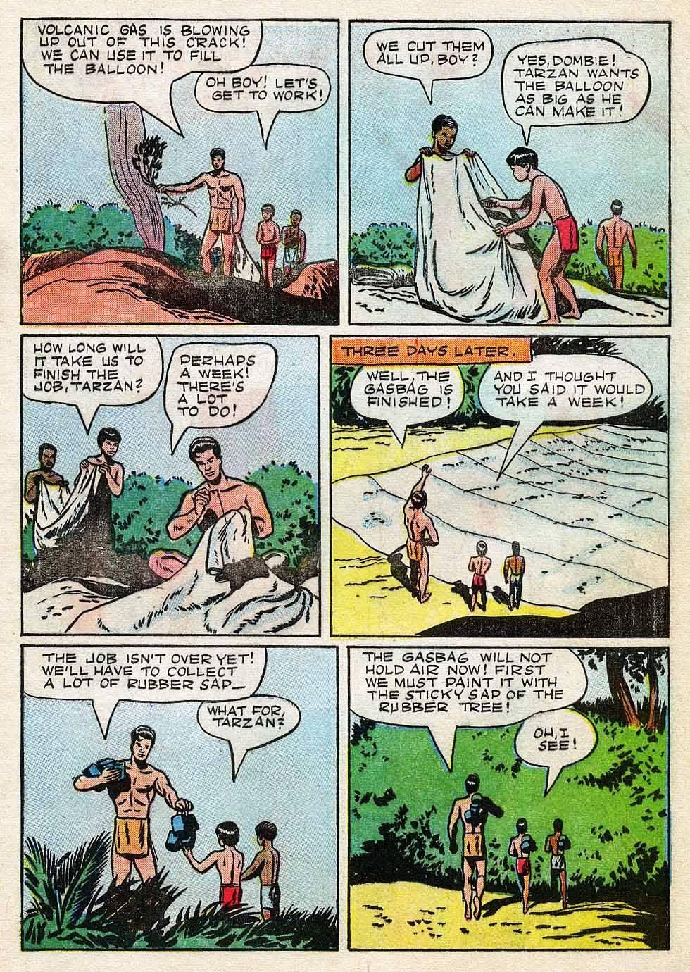 Tarzan (1948) issue 7 - Page 5