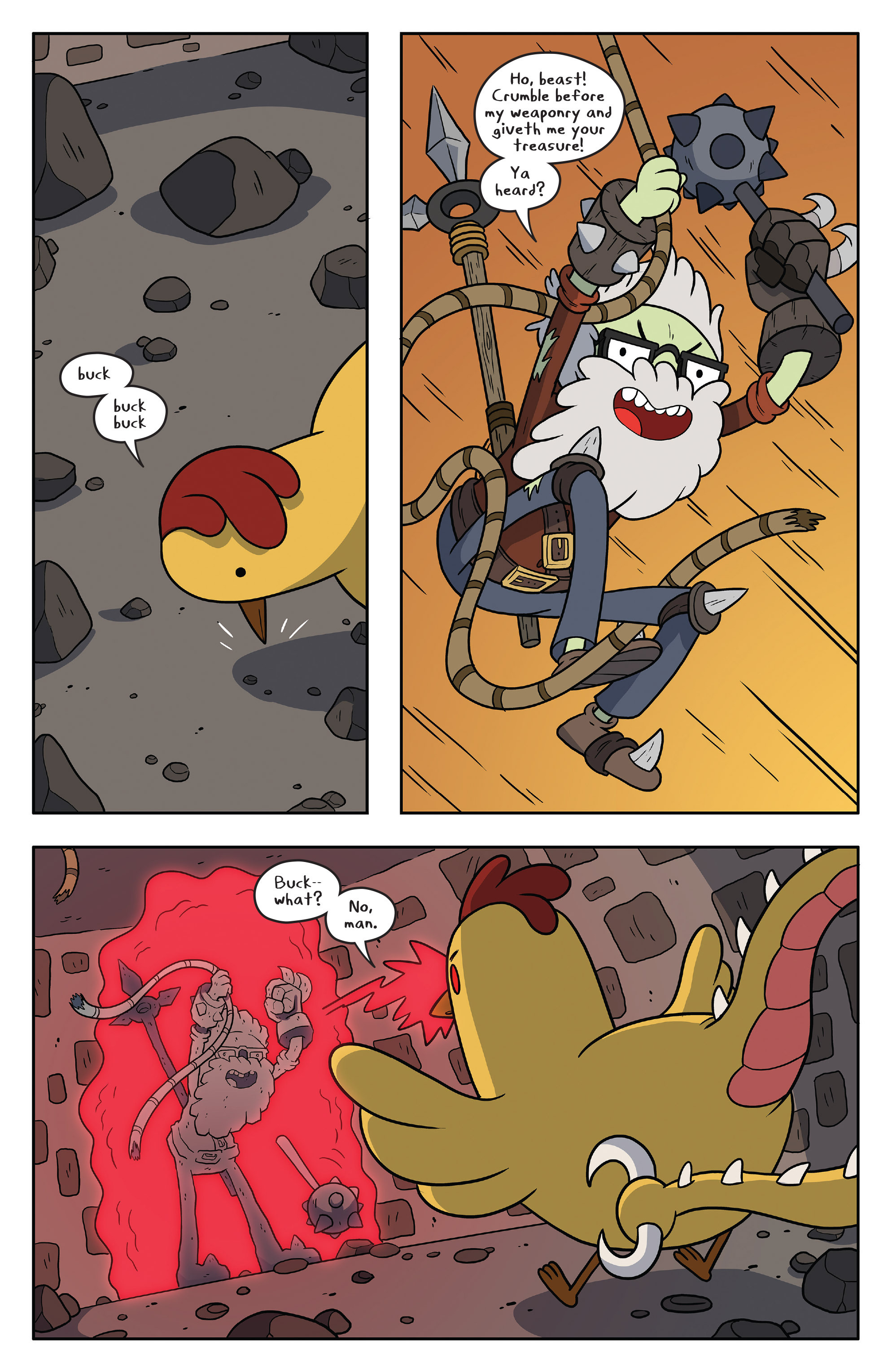 Read online Adventure Time comic -  Issue #58 - 3
