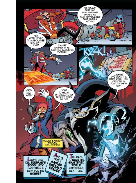 Read online Sonic Comics Spectacular: Speed of Sound comic -  Issue # Full - 141