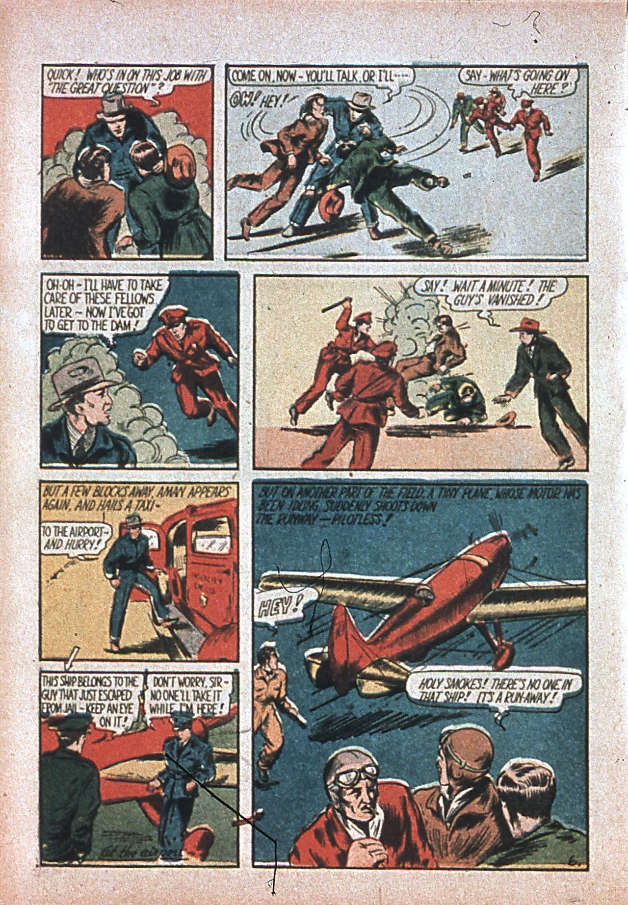 Read online Amazing Man Comics comic -  Issue #7 - 9