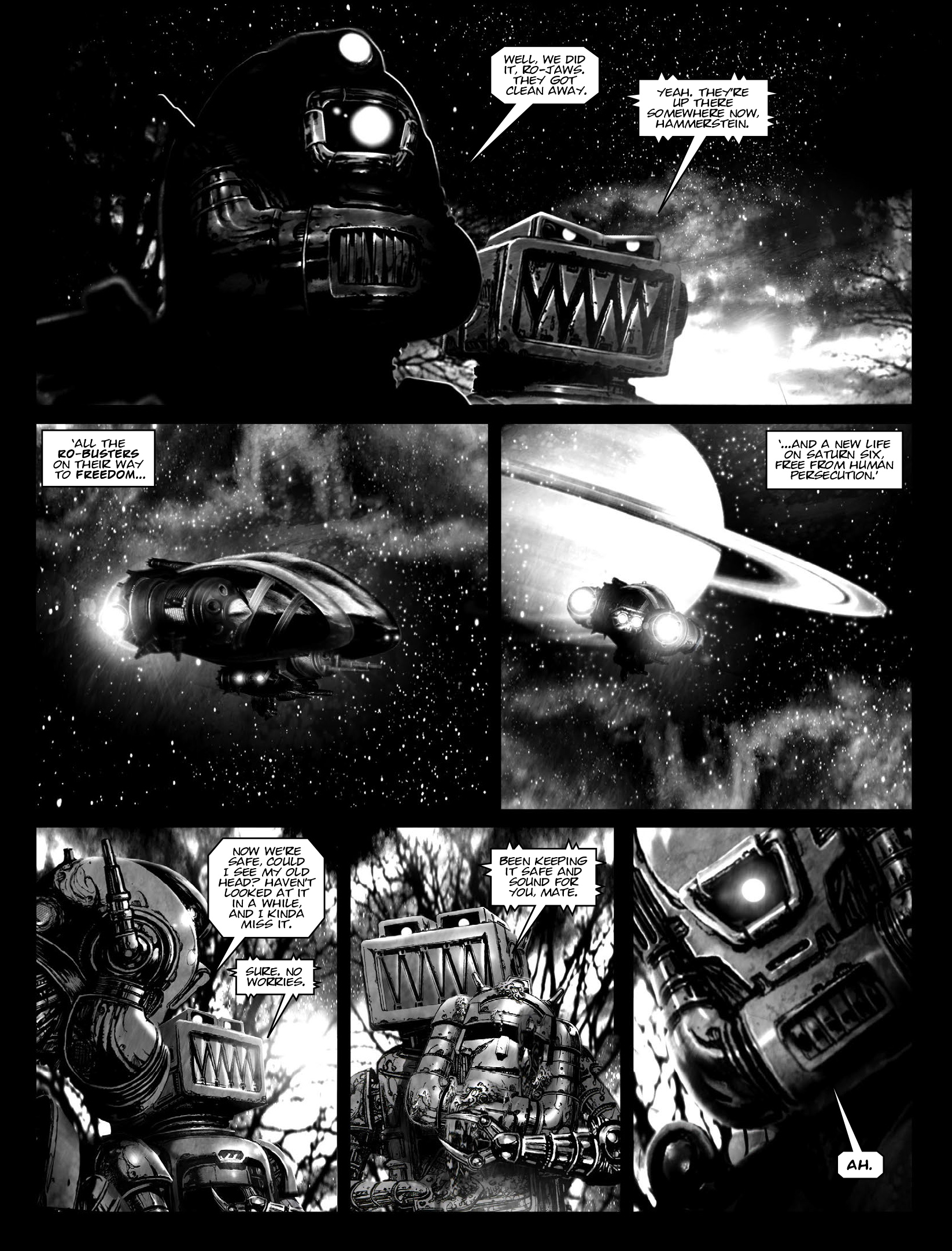 Read online 2000 AD comic -  Issue #1970 - 17