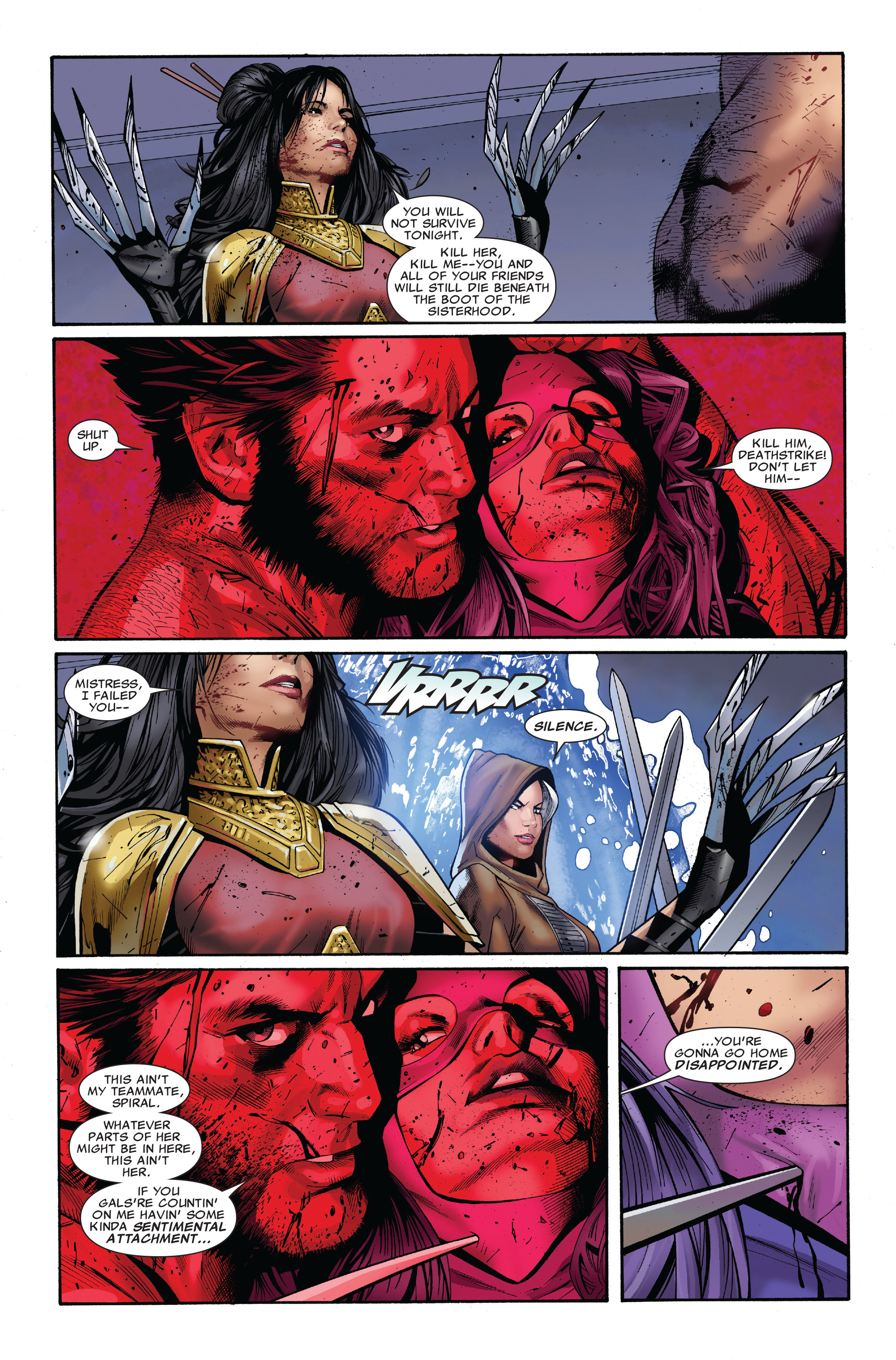 Read online Uncanny X-Men (1963) comic -  Issue #510 - 23